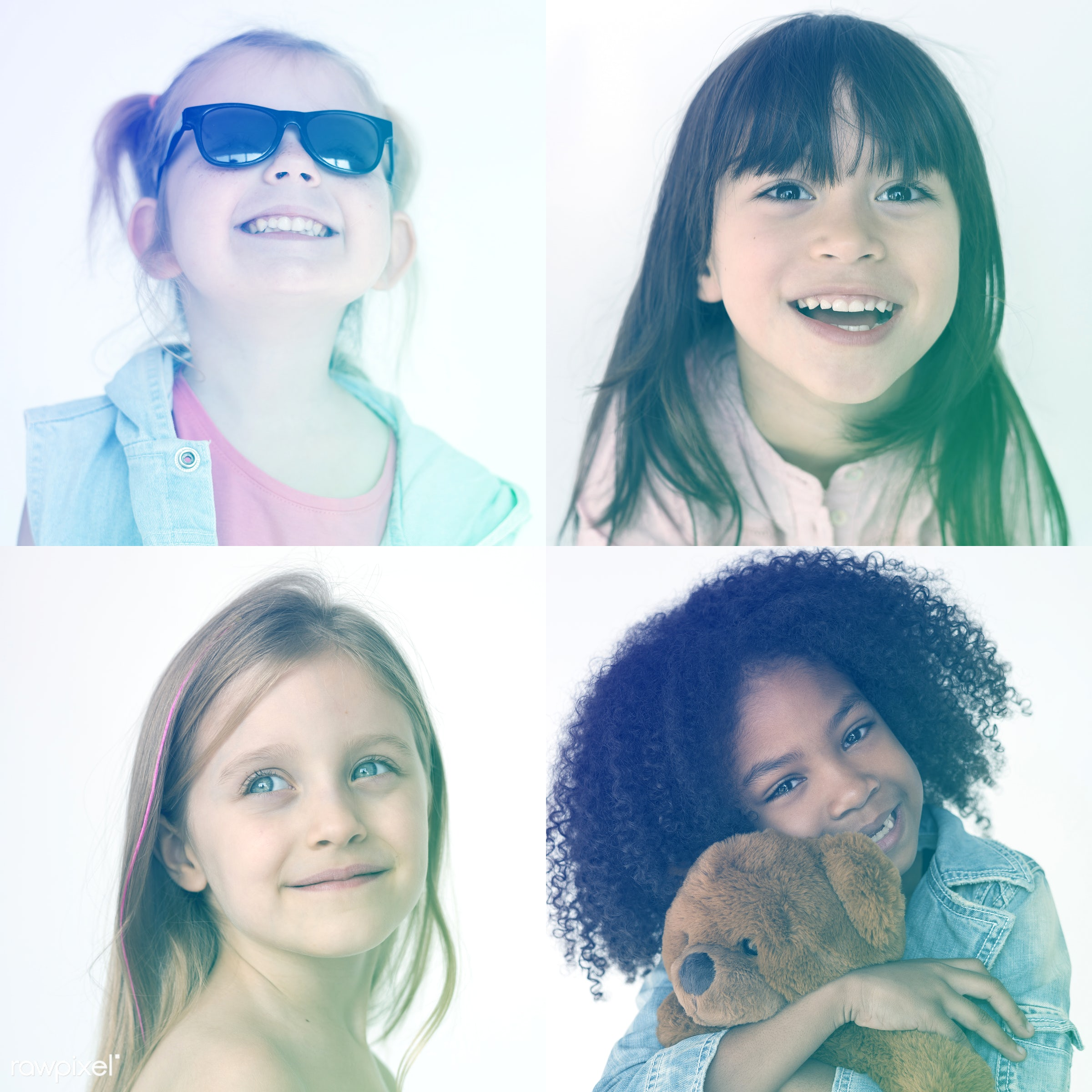 studio, person, little, people, together, kid, love, teamwork, friends, friendship, childhood, multicultural, cheerful,...