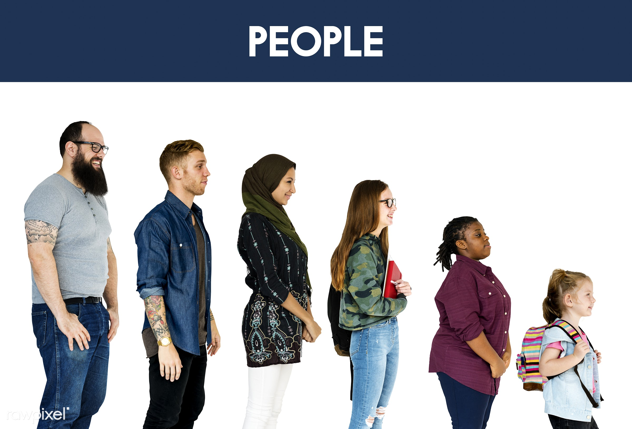 muslim, studio, person, diverse, people, race, attraction, together, asian, caucasian, young adult, woman, lifestyle, studio...