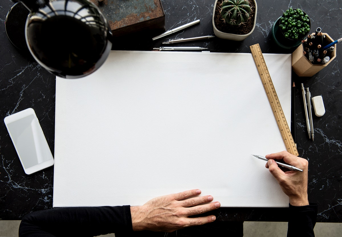 Hand Process Work Desk Draw
