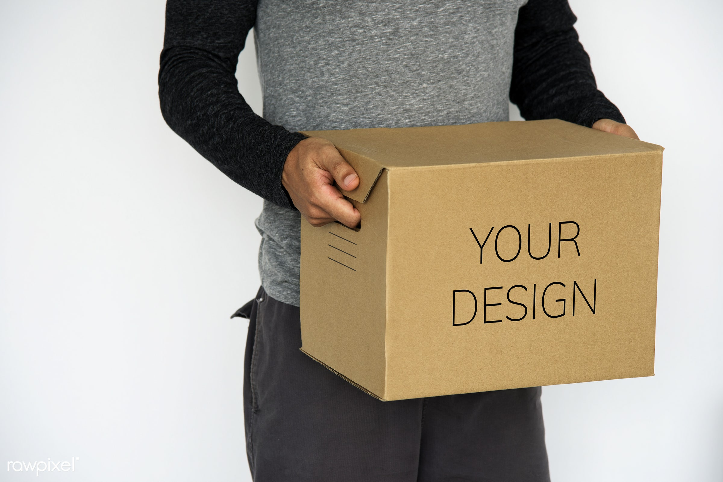 box, package, delivery, mock up, moving, container, pack, shirt, bear, behavior, boy, bring, brown, cardboard, carry, copy...