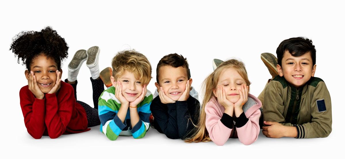 Schooler Frinds Happiness Cute Playful