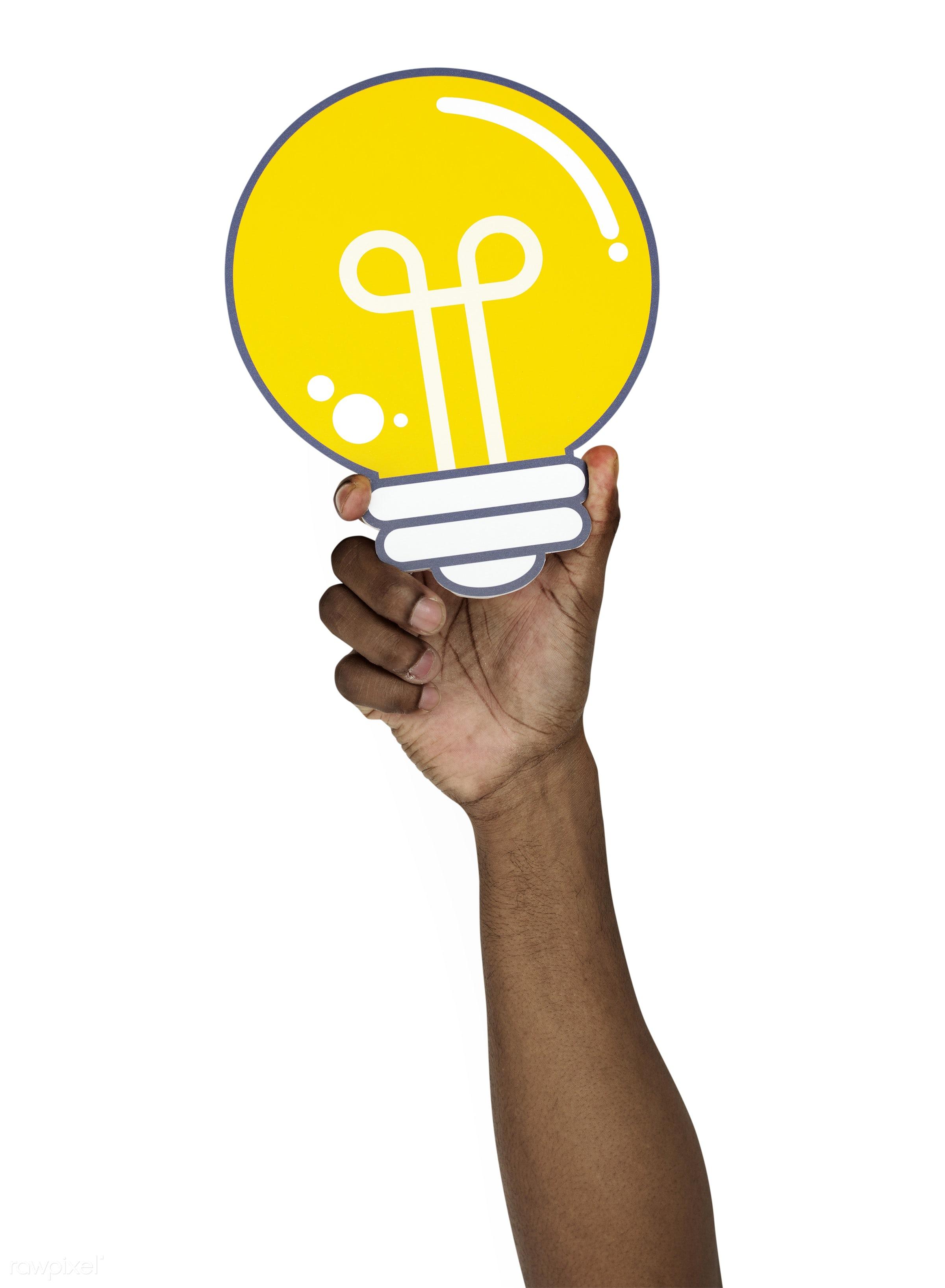 idea, lightbulb, design, eureka, background, brainstorm, bulb, creative, creativity, hand, hold, holding, human, ideas,...