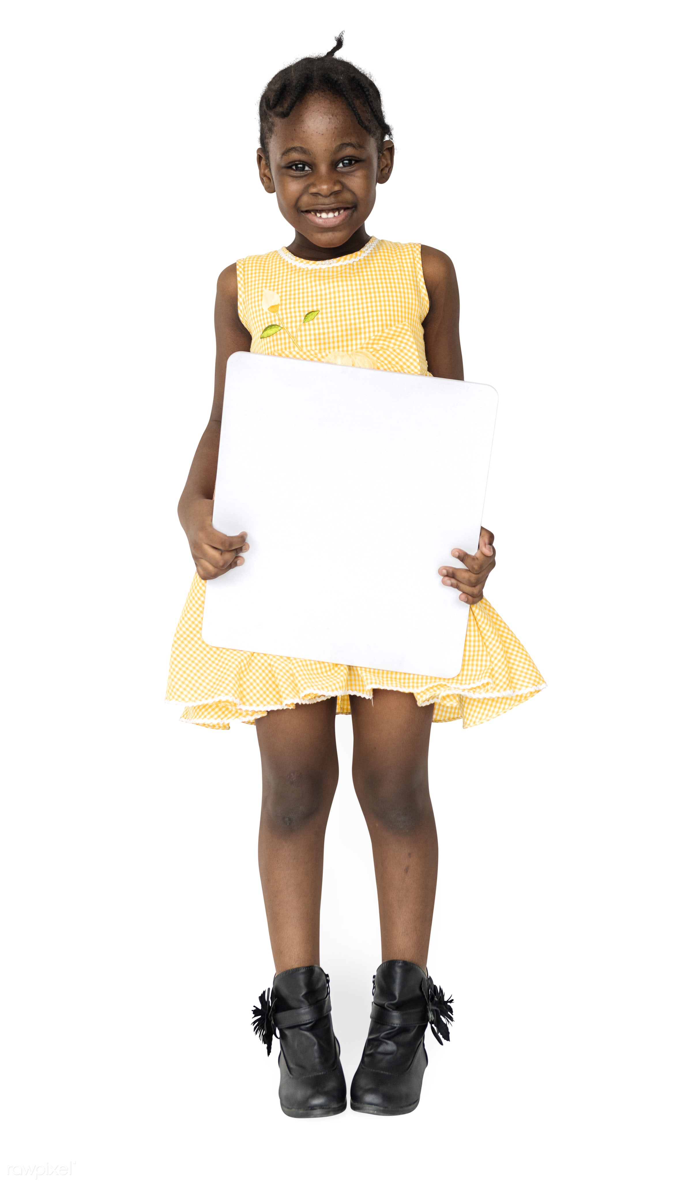 adorable, african descent, background, banner, blank, charming, cheerful, child, childhood, copy space, cute, girl, isolated...