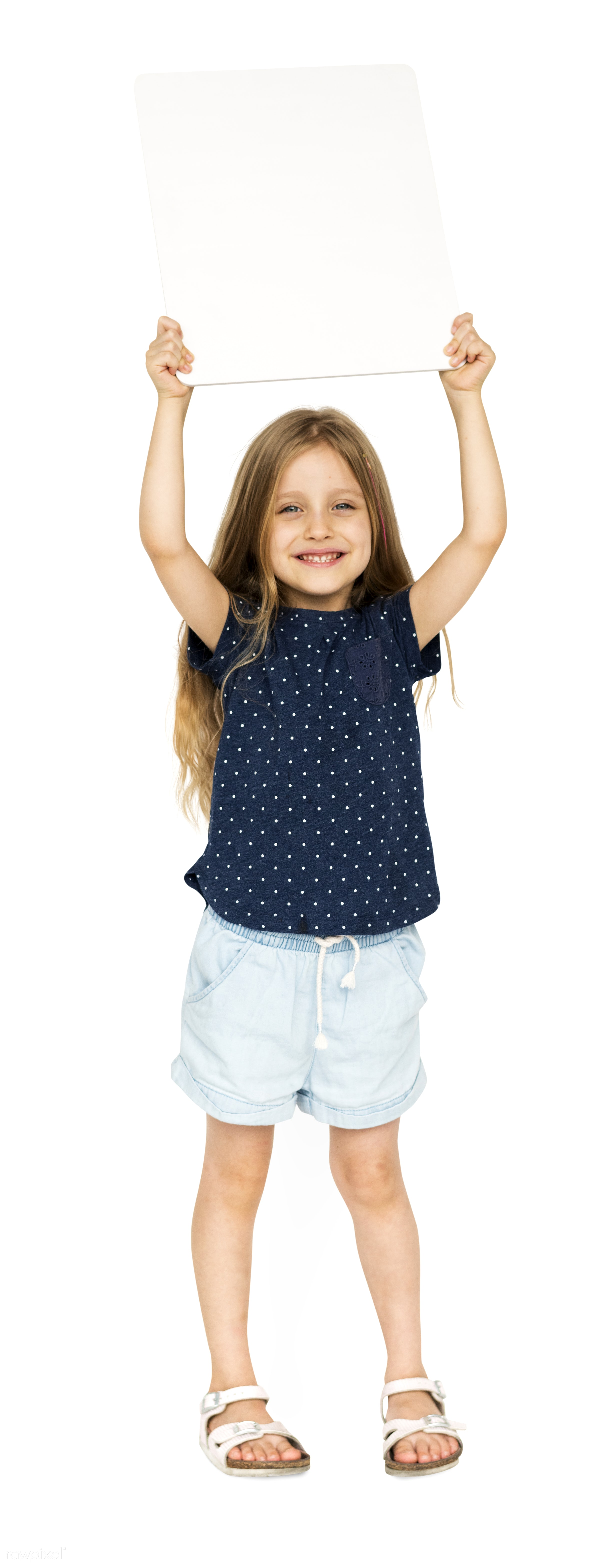 child, adorable, arms raised, background, banner, blank, casual, charming, cheerful, childhood, copy space, cute, girl,...
