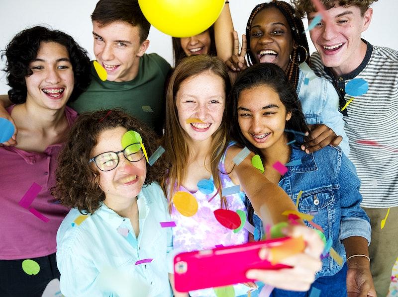 Group teen shooting free — pic 15