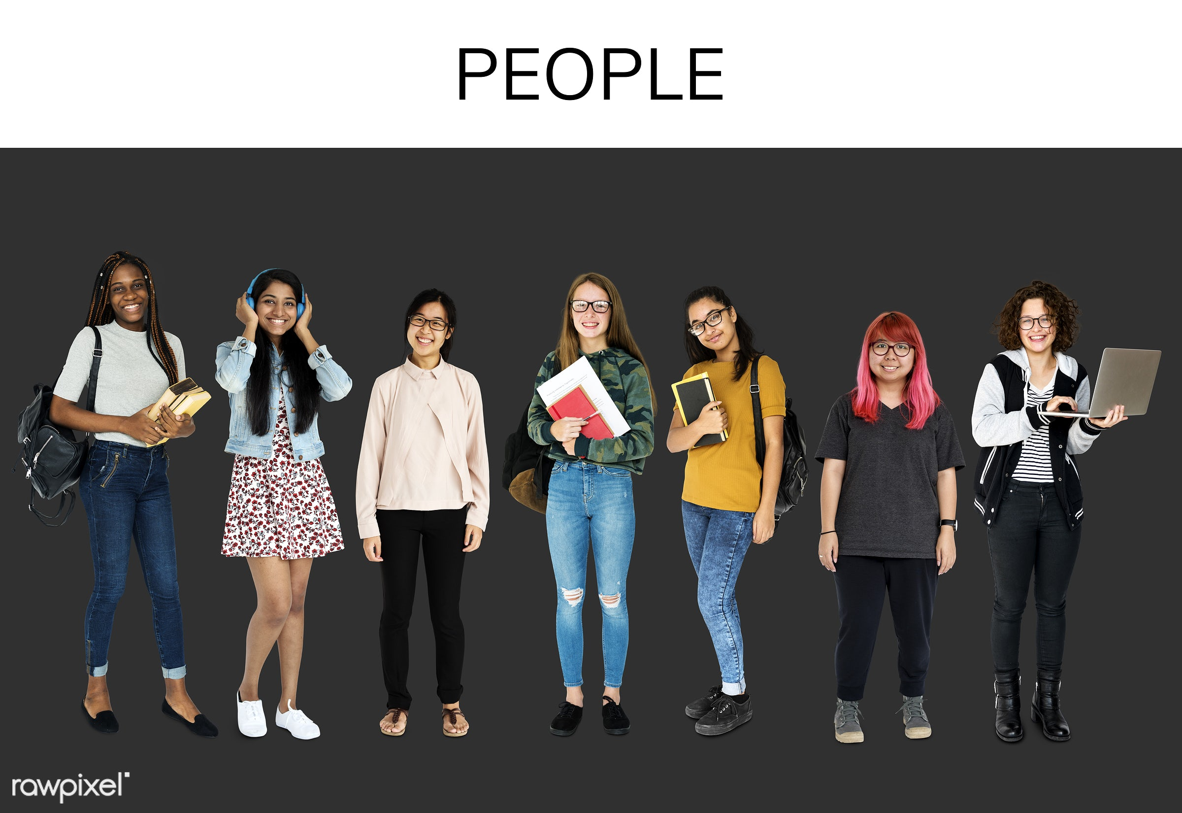 studio, person, diverse, study, recreation, people, caucasian, asian, young adult, student, woman, lifestyle, studio...