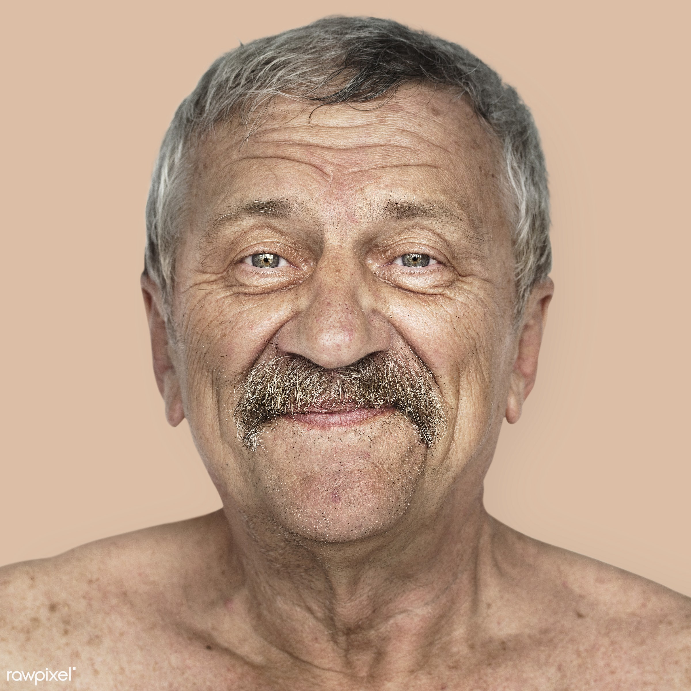Portrait of an American man - america, american, close up, elderly, expression, face, guy, headshot, man, person, portrait,...