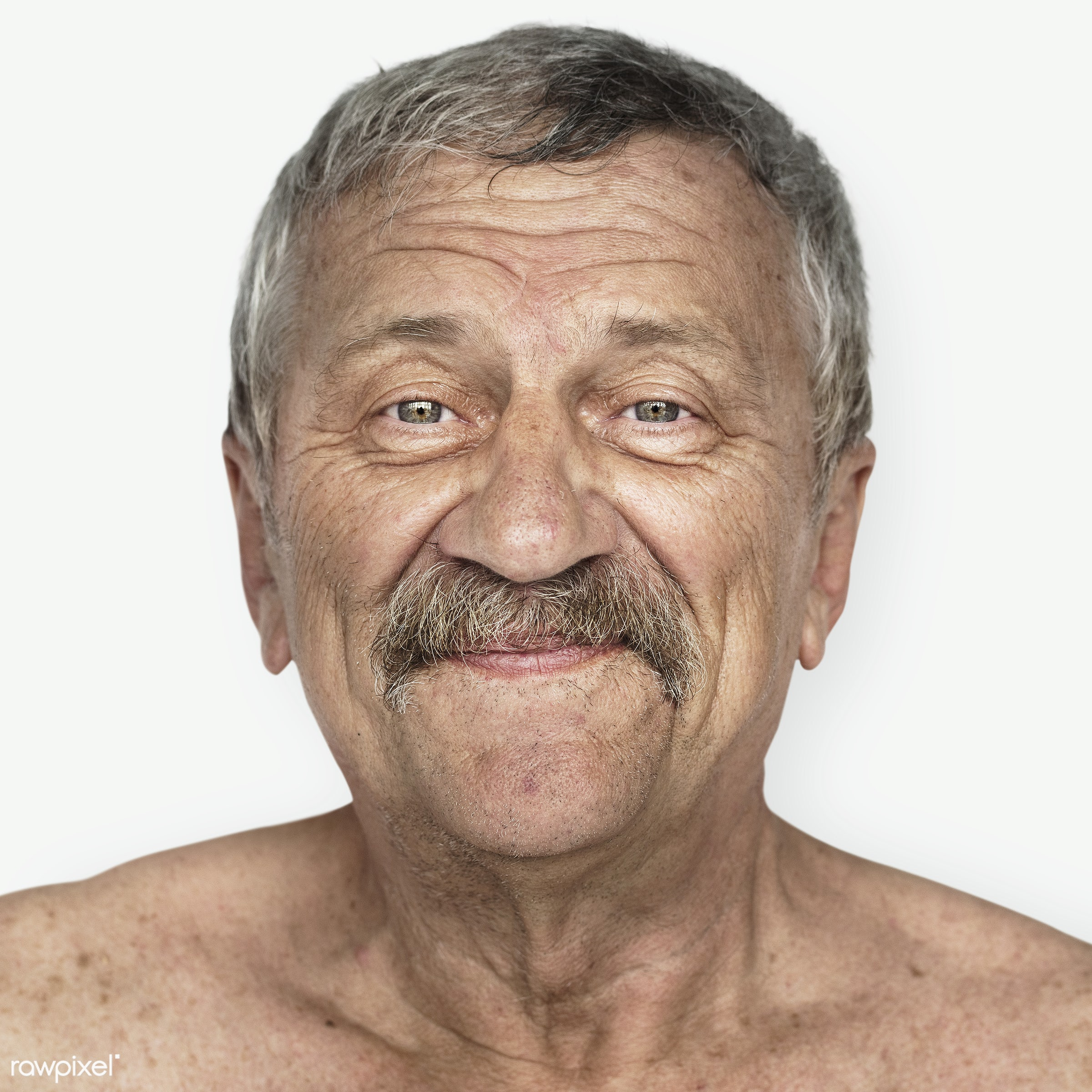 Portrait of an American man - america, american, caucasian, close up, elderly, expression, face, guy, headshot, man, person...