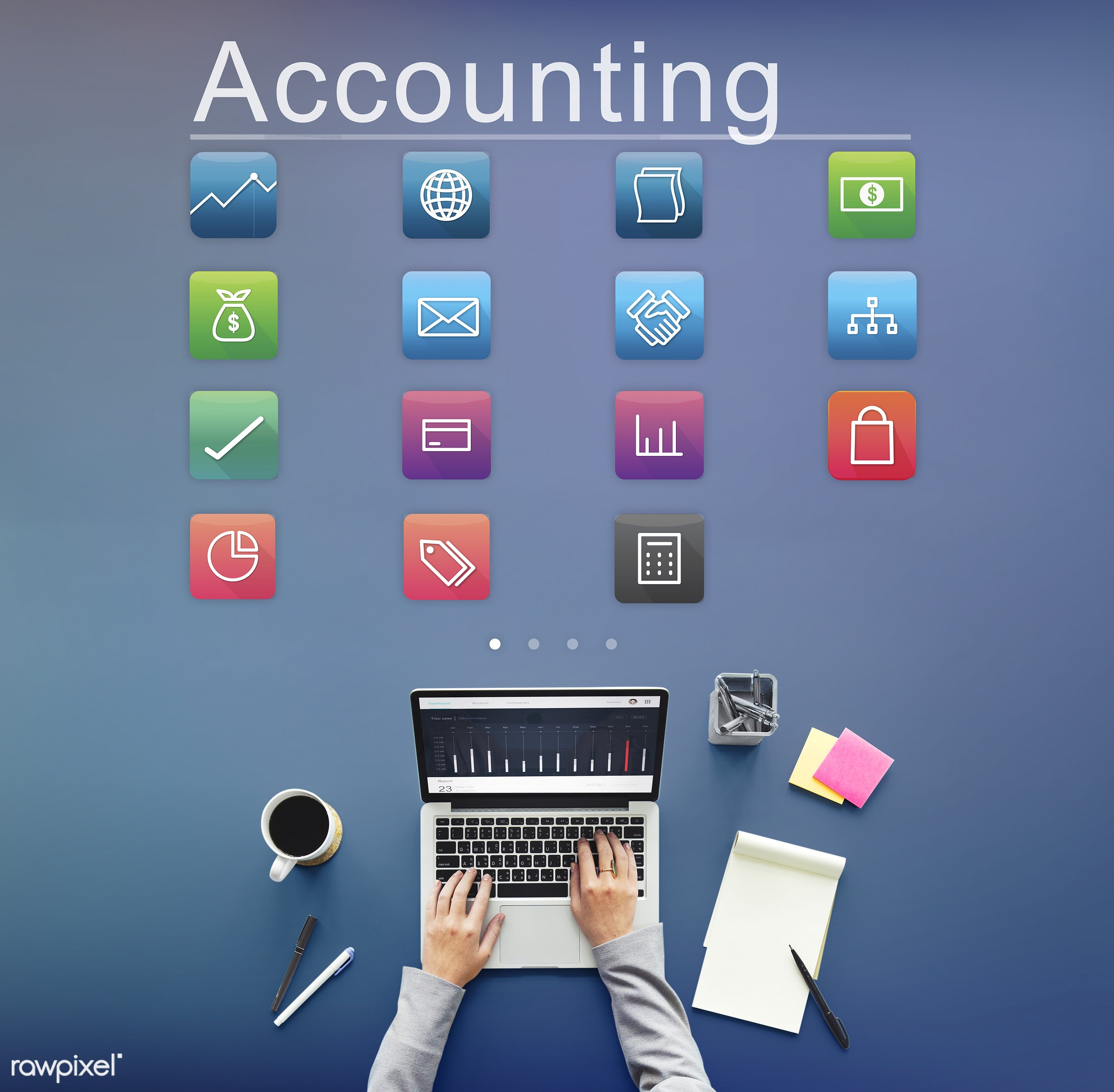 calculator, online payment, accounting, aerial view, application, assets, banking, business, business person, connection,...