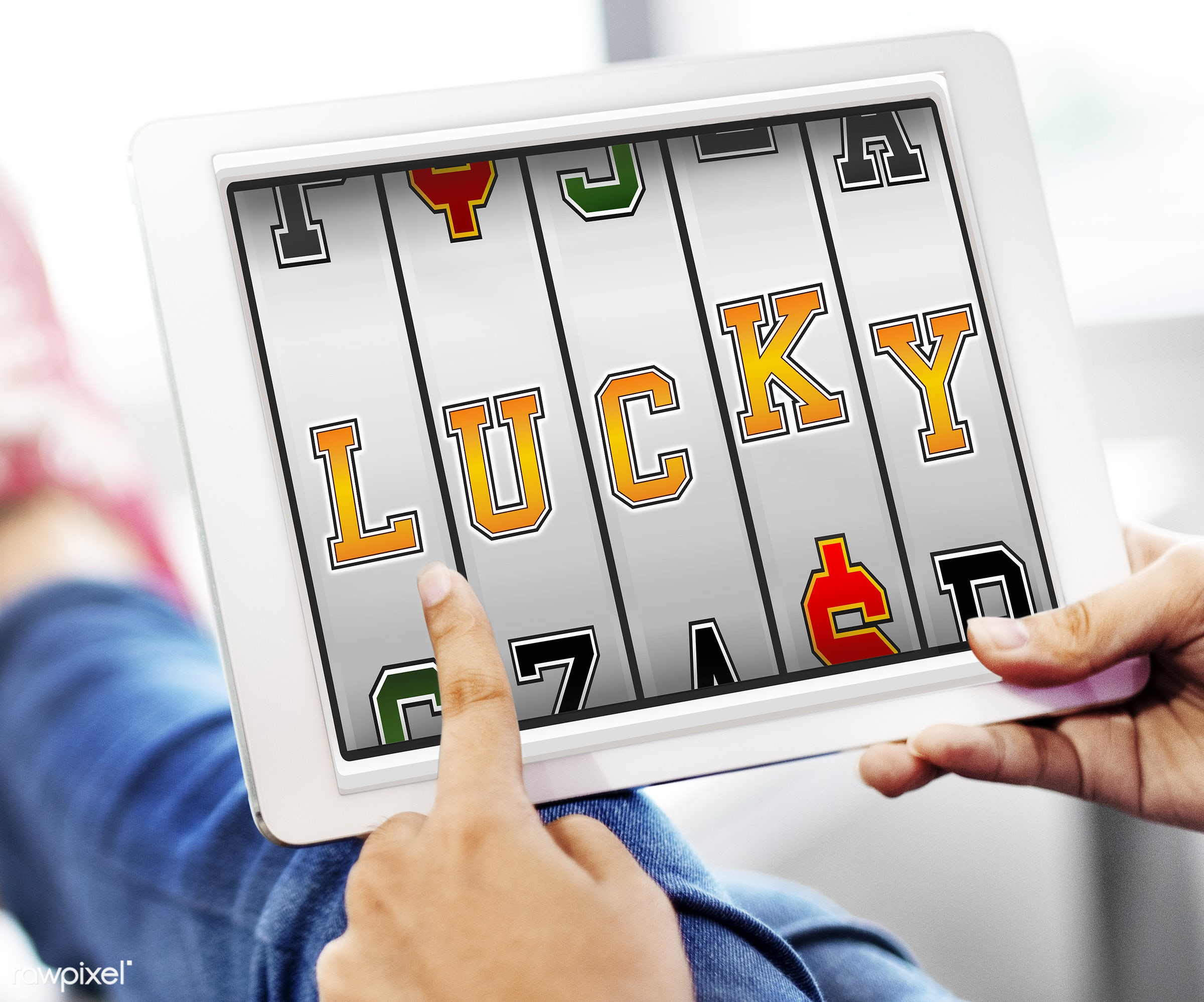 audio, bet, bingo, browsing, casual, celebrate, celebration, chance, design, digital tablet, gamble, game, graphics, hands,...