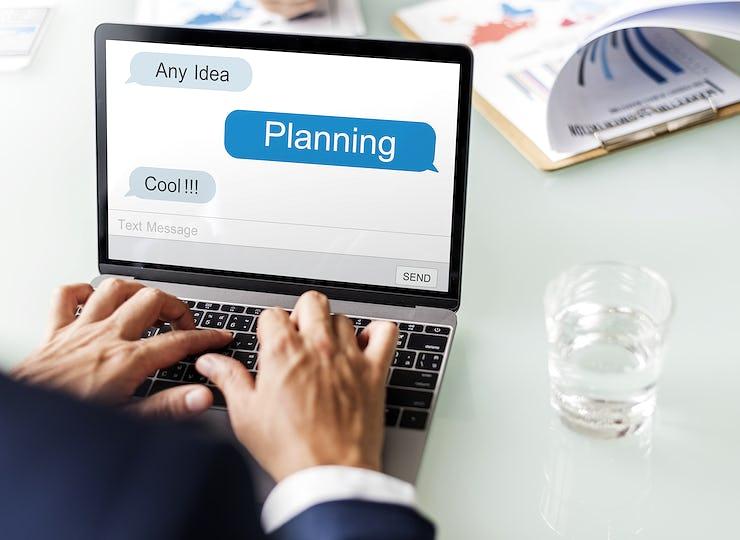Corporate Marketing Strategy Partnership Concept