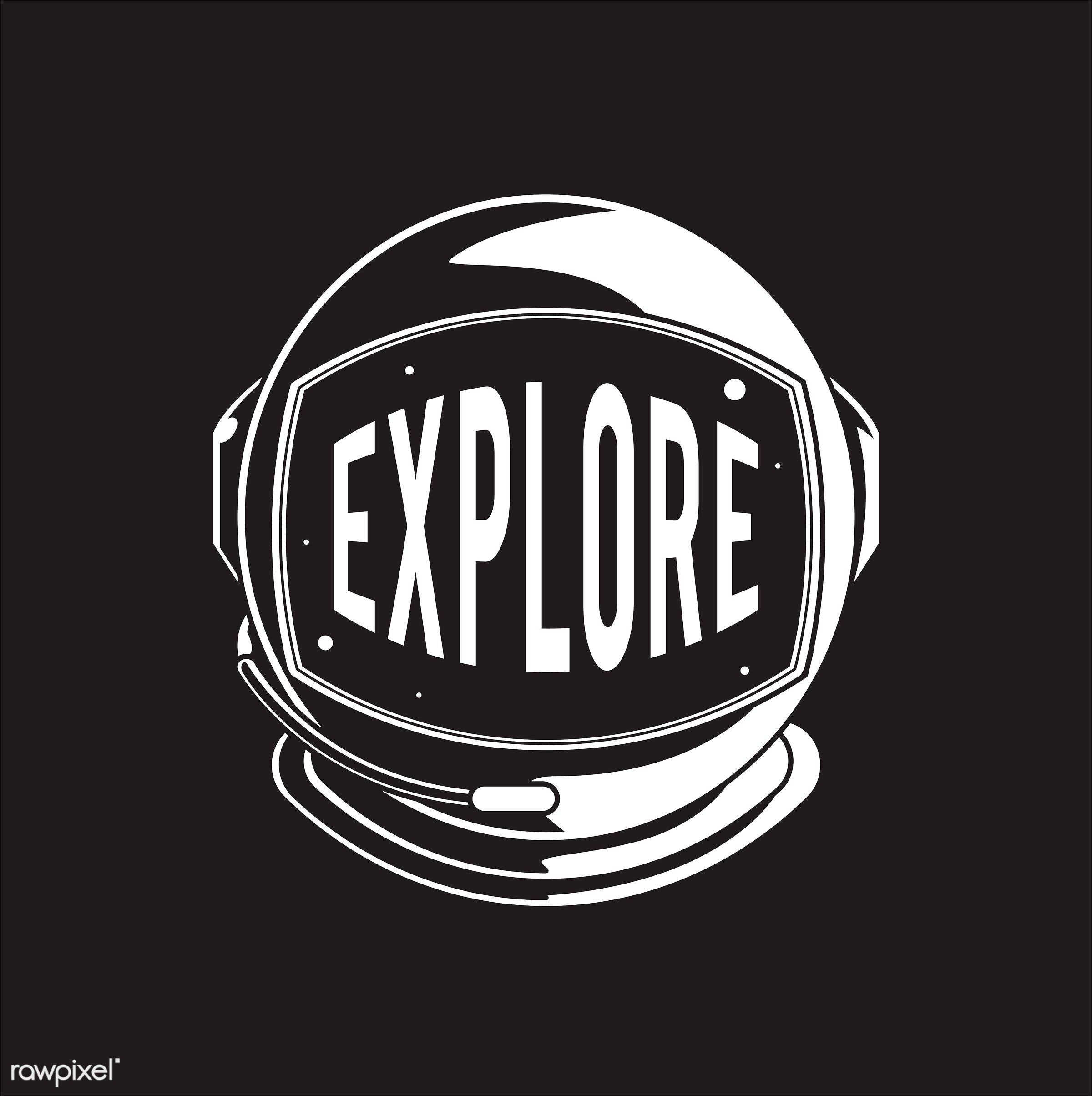 Explore space comic style vector - typography, explore, travel, vector, startup, star, typo, ornament, journey, illustration...