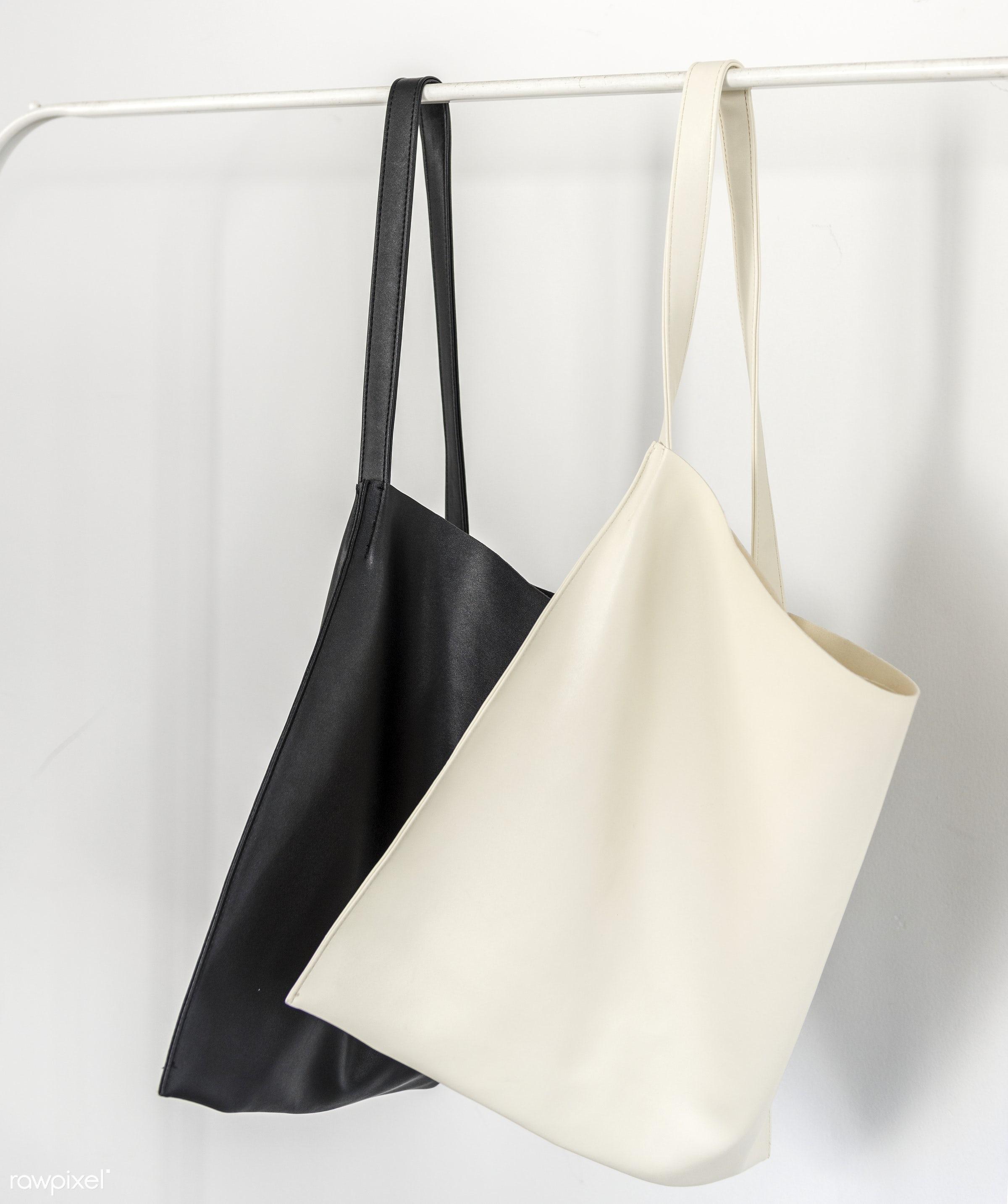minimalism, accessory, bag, canvas, design, hanging, shopping, stylish, textile, white background