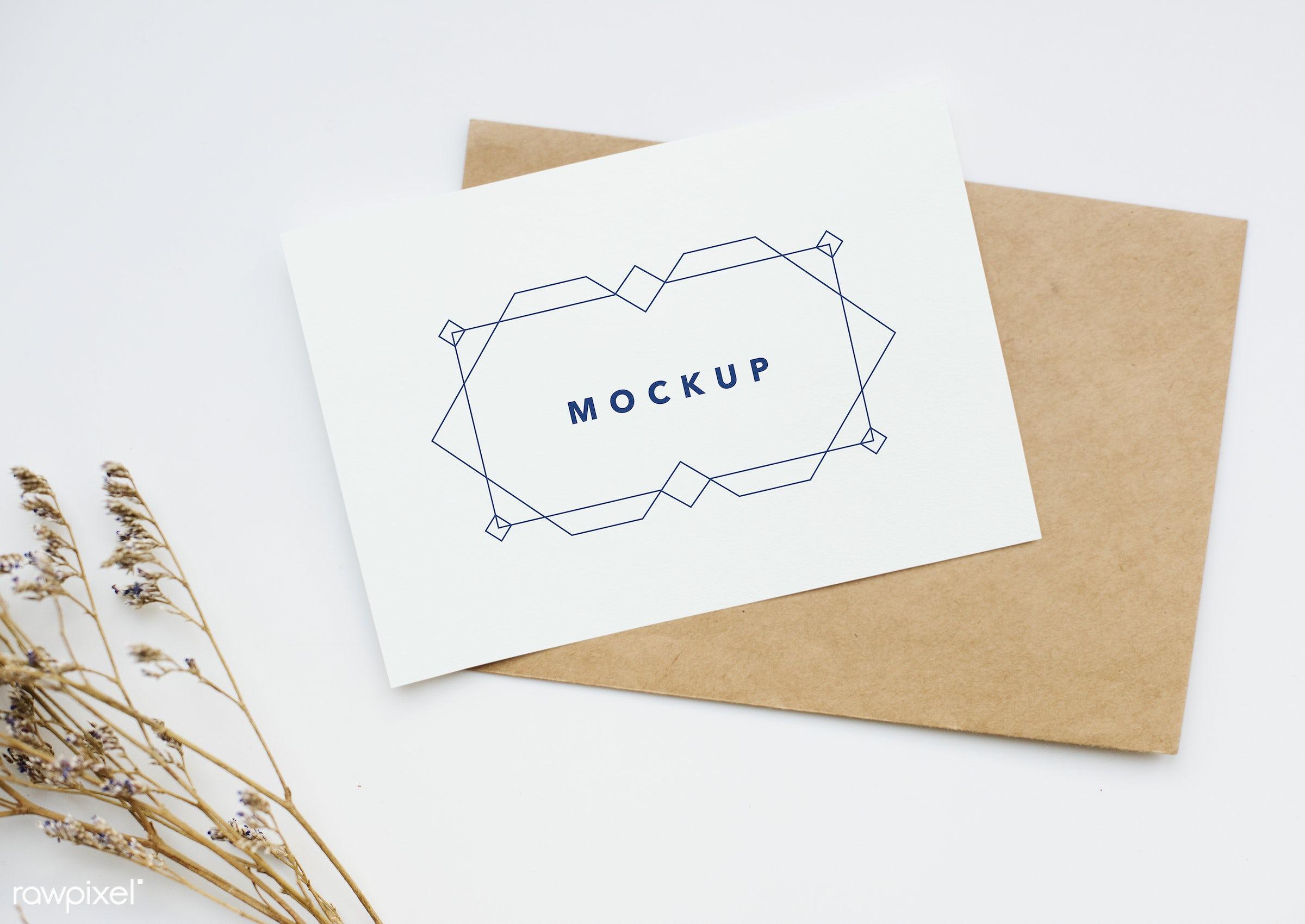Greeting Card Mockup Id 296263