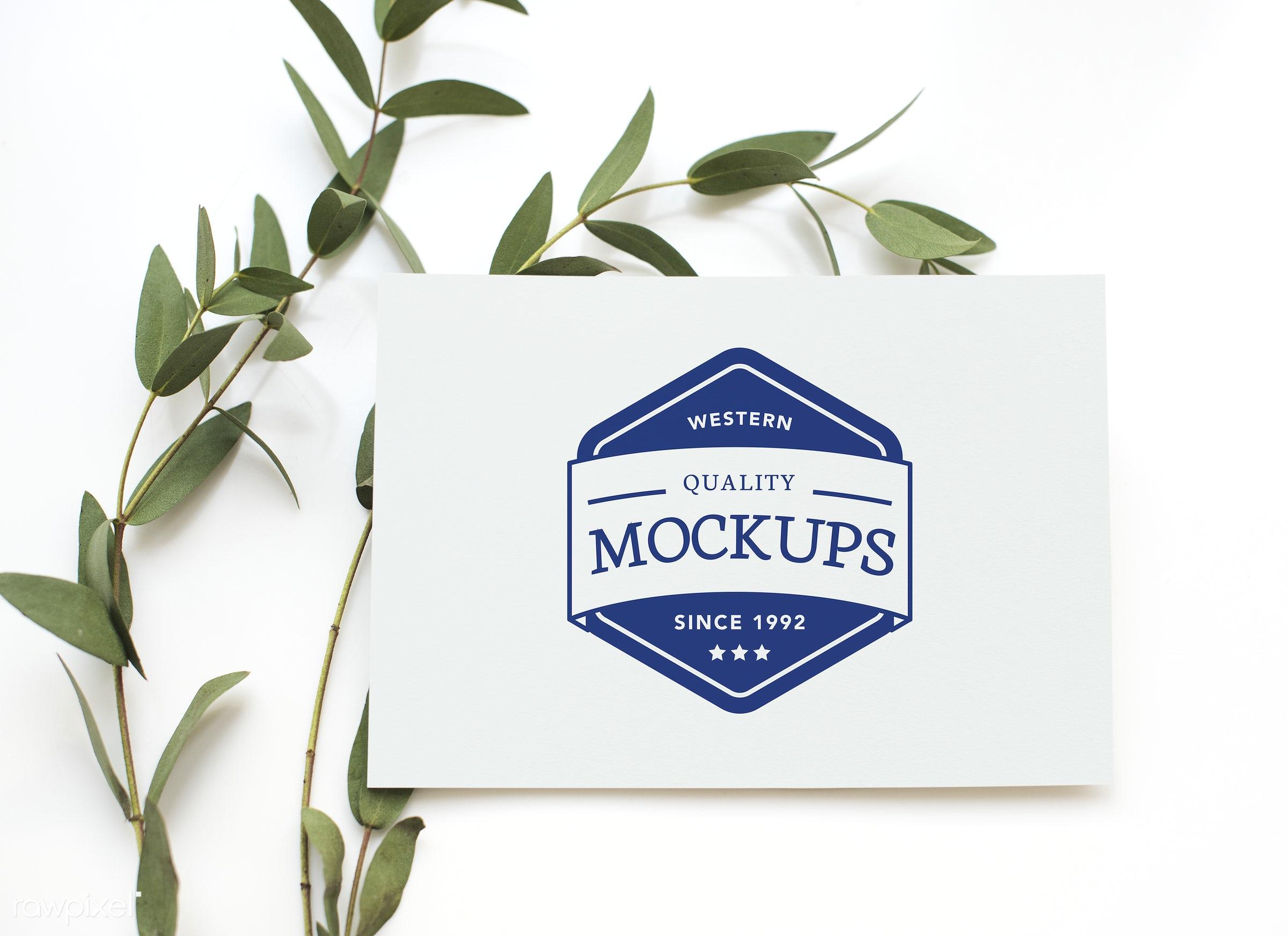 Greeting Card Mockup Id 296241