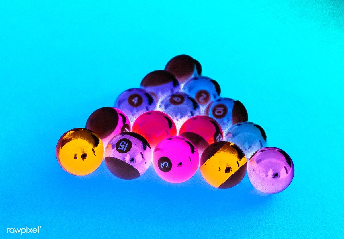 Pool Table Setup >> Billiard Balls Setup On A Pool Table Royalty Free Stock Photo 404277