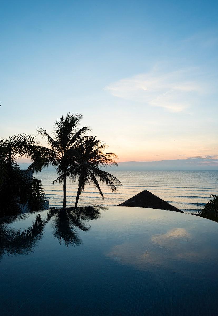 Luxury resort with pool villa