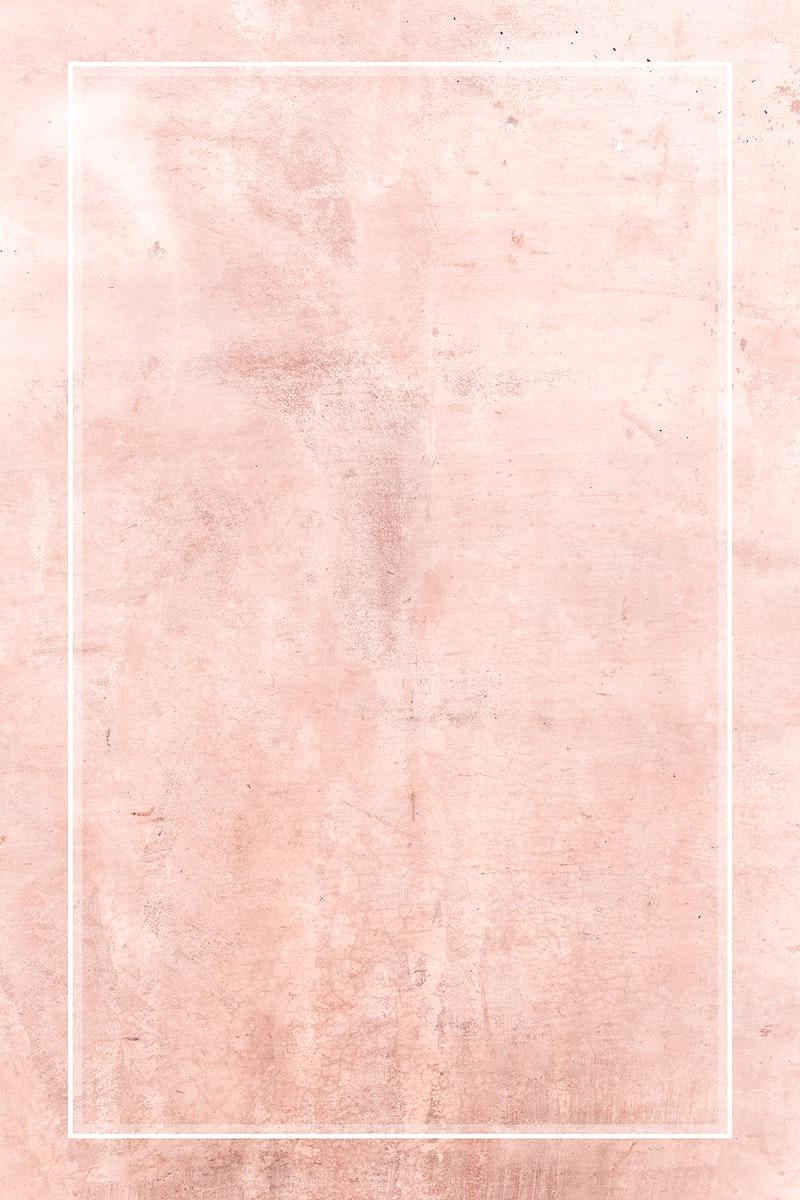 Blank pink rectangle frame background