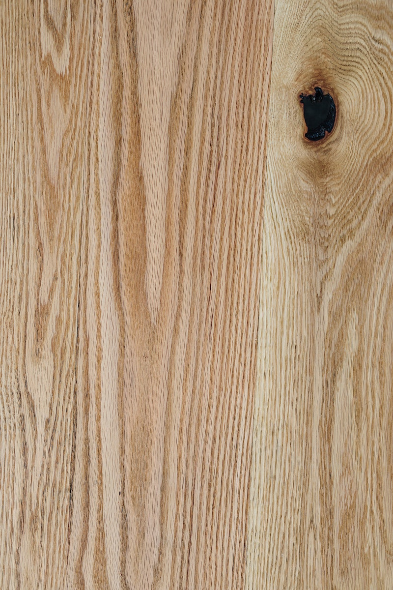 Natural wood with knot background