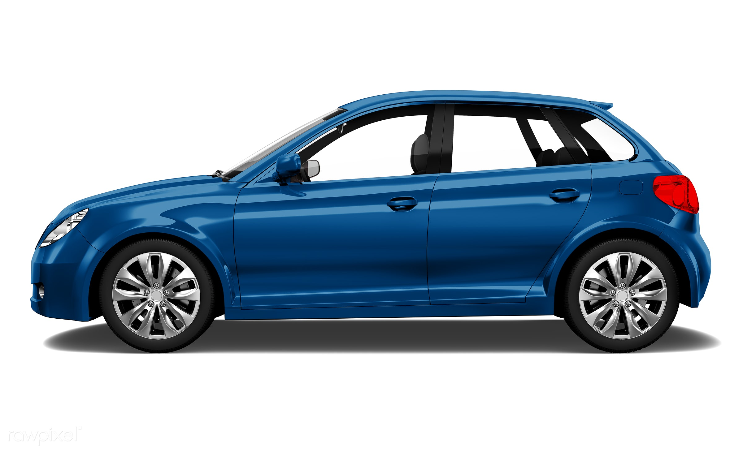 Three dimensional image of car - car, 3d, automobile, automotive, blue, brandless, concept car, graphic, hatchback, holiday...