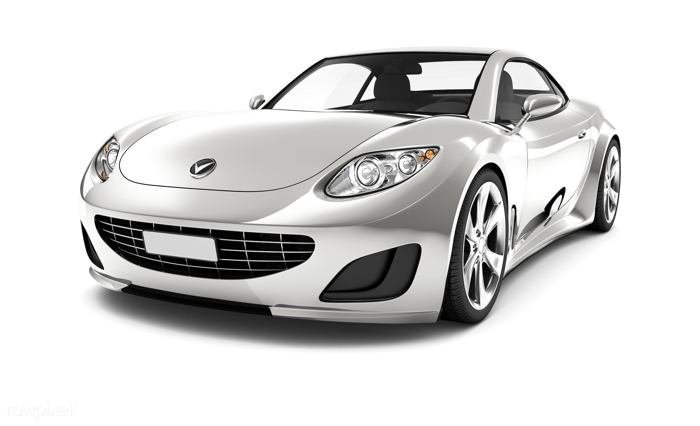 Three dimensional image of car - 3d, automobile, automotive, brandless, bronze, car, concept car, elegant, graphic, grey,...