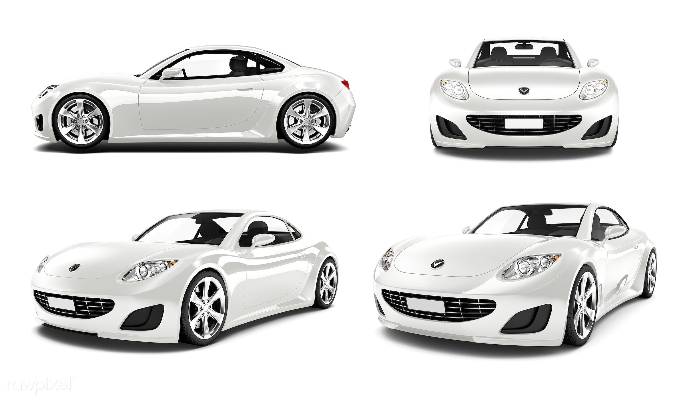 Three dimensional image of car - car, 3d, automobile, automotive, brandless, bronze, concept car, graphic, holiday,...
