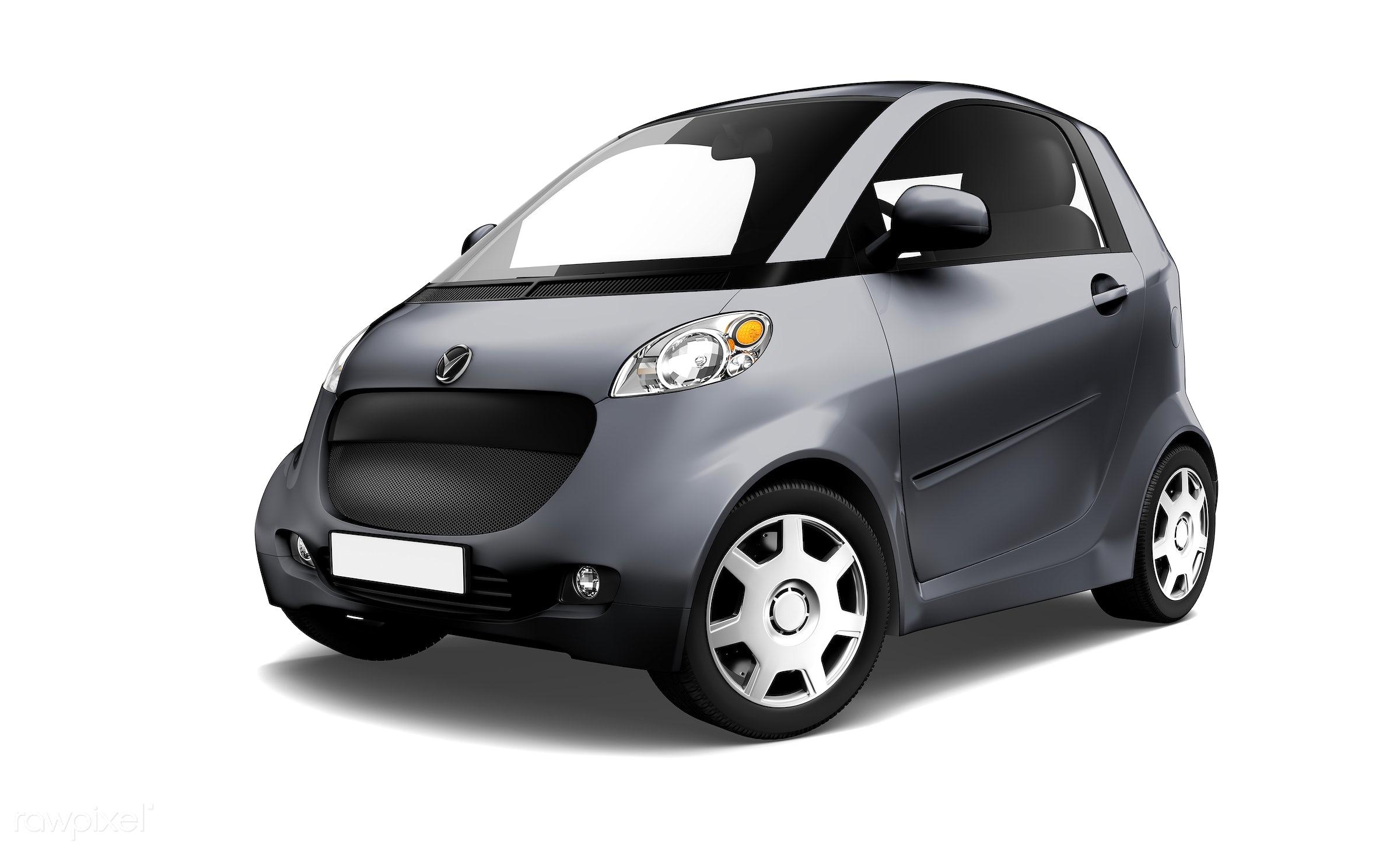 Three dimensional image of car - 3d, automobile, automotive, black, brandless, car, concept car, eco, eco car, graphic,...