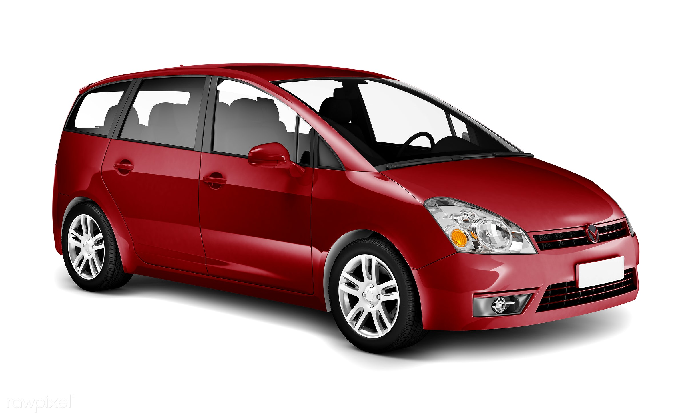 Three dimensional image of red car - car, van, 3d, automobile, automotive, brandless, concept car, graphic, holiday,...