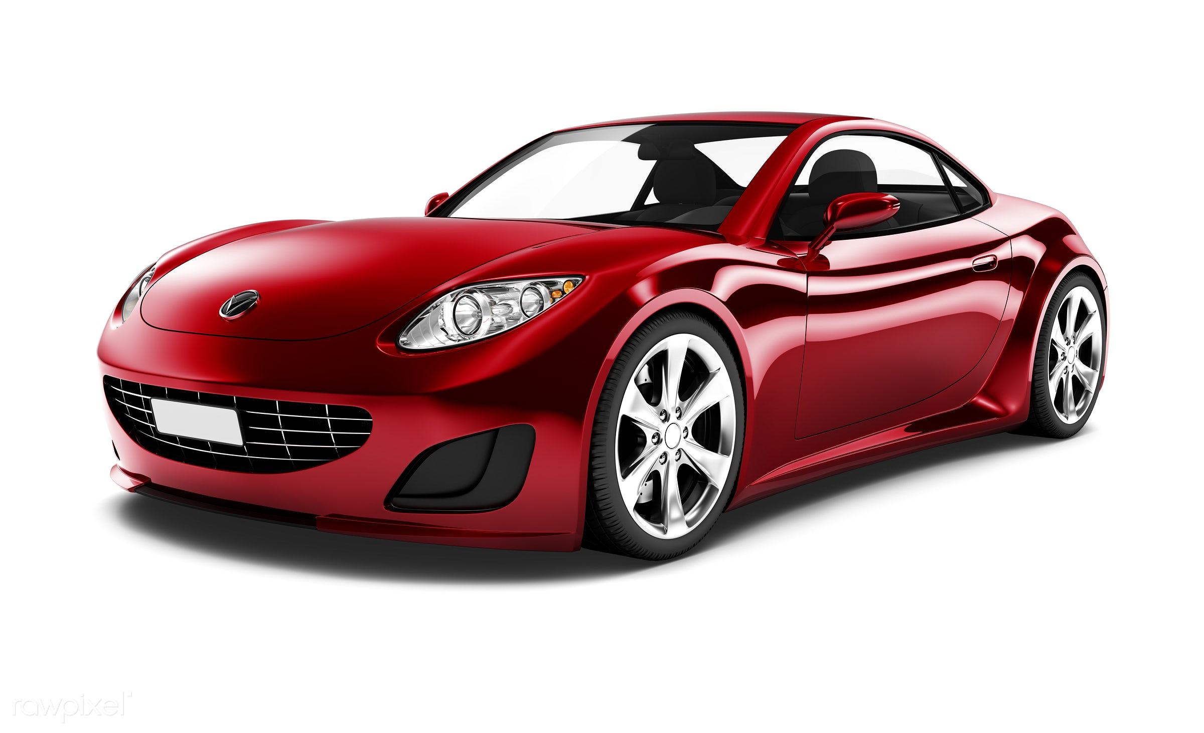 Three dimensional image of red car - 3d, automobile, automotive, brandless, car, concept car, elegant, graphic, holiday,...