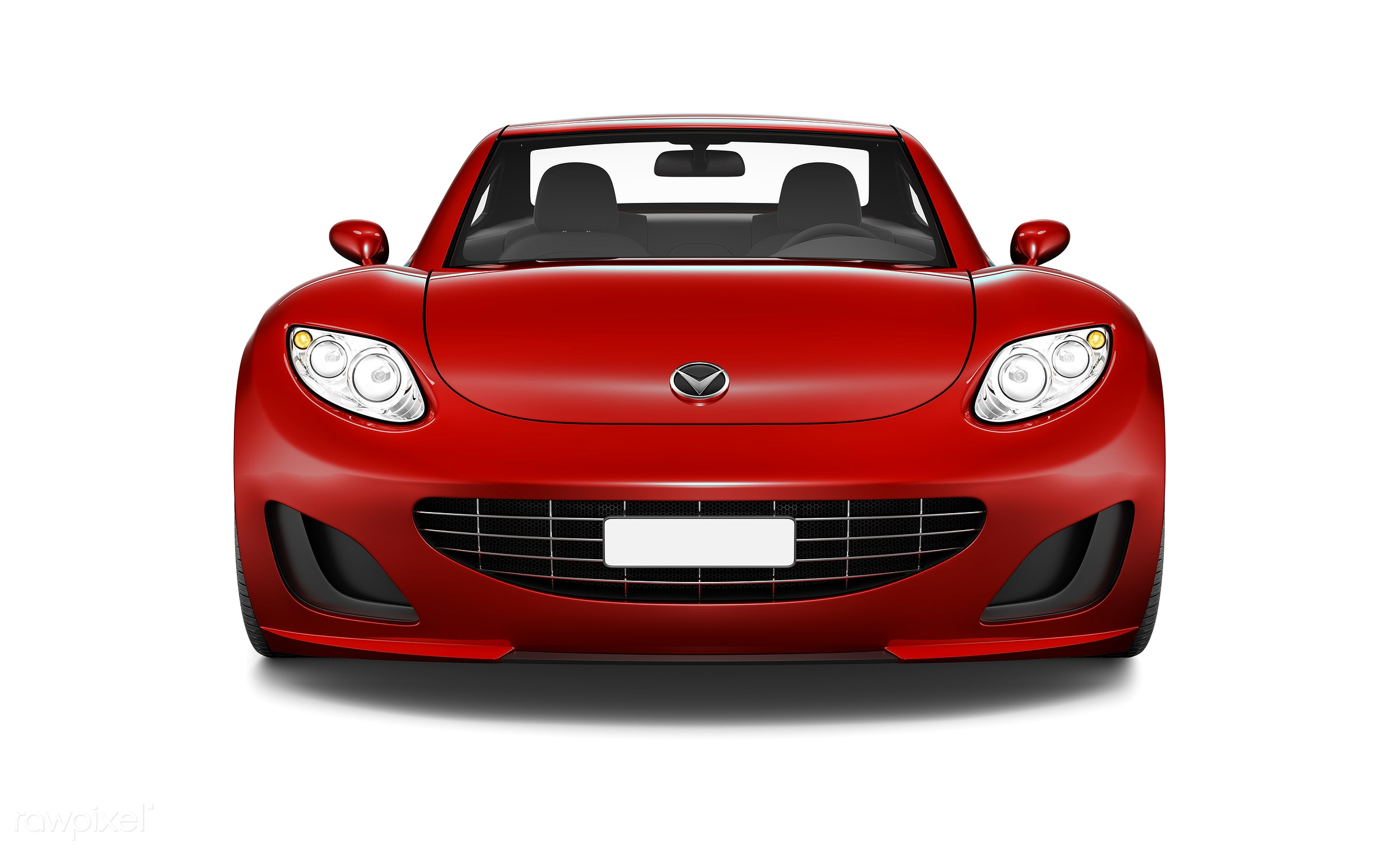 Three dimensional image of red car - car, 3d, automobile, automotive, brandless, concept car, elegant, graphic, holiday,...