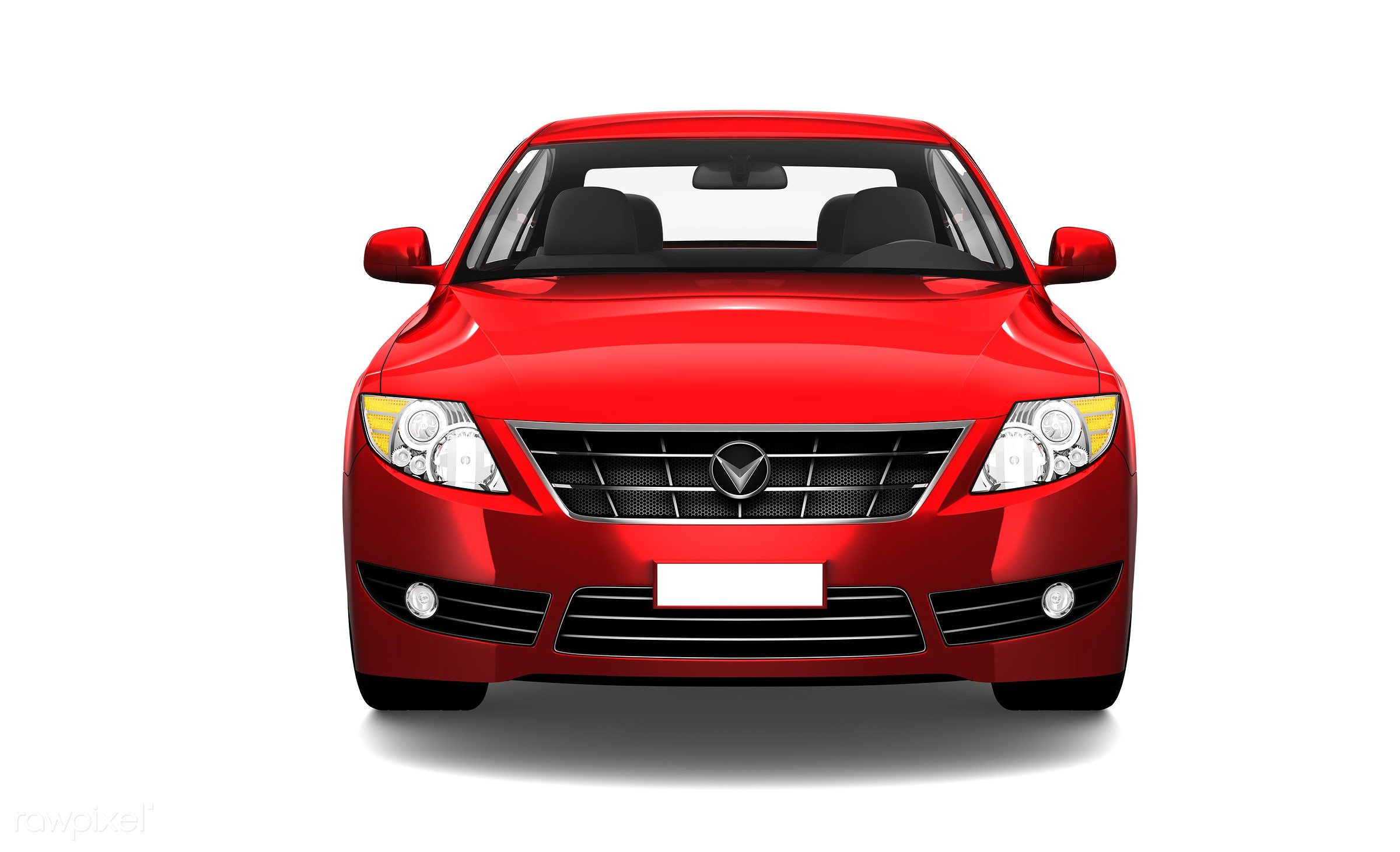 Three dimensional image of red car - car, 3d, automobile, automotive, brandless, concept car, graphic, holiday, illustration...