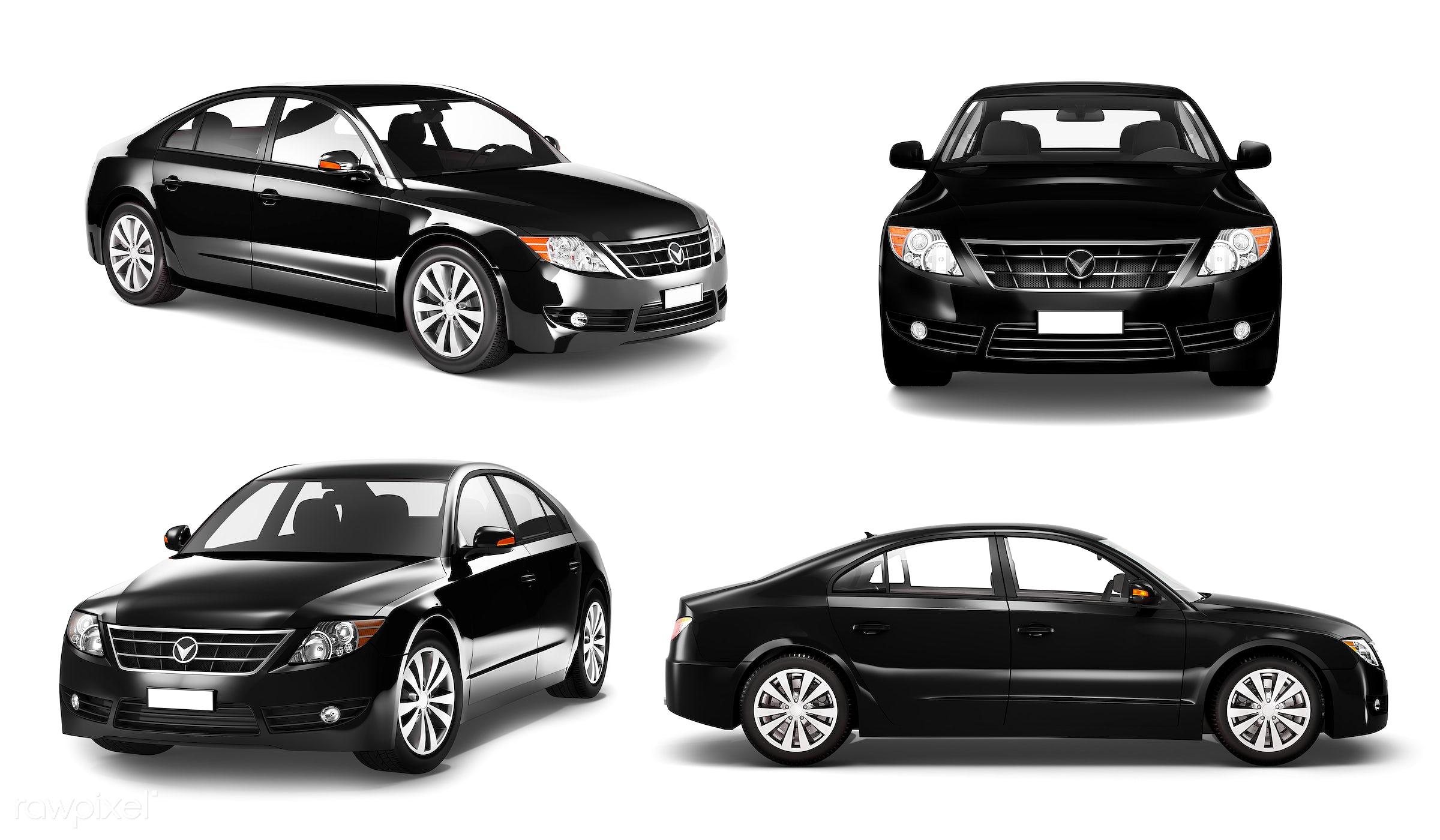 Three dimensional image of car - 3d, automobile, automotive, black, brandless, car, concept car, graphic, holiday,...