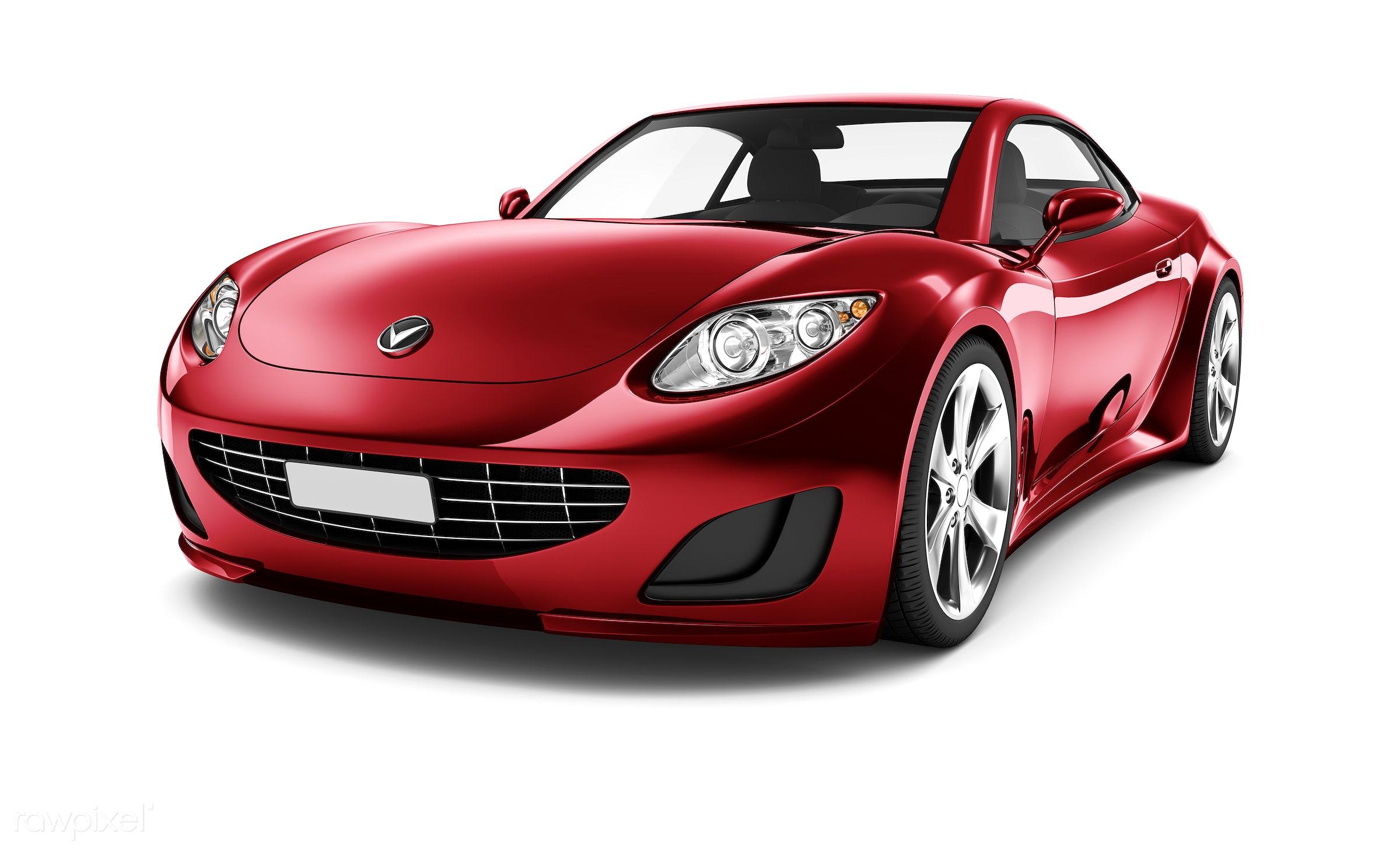 Three dimensional image of car - 3d, automobile, automotive, brandless, car, concept car, elegant, graphic, holiday,...
