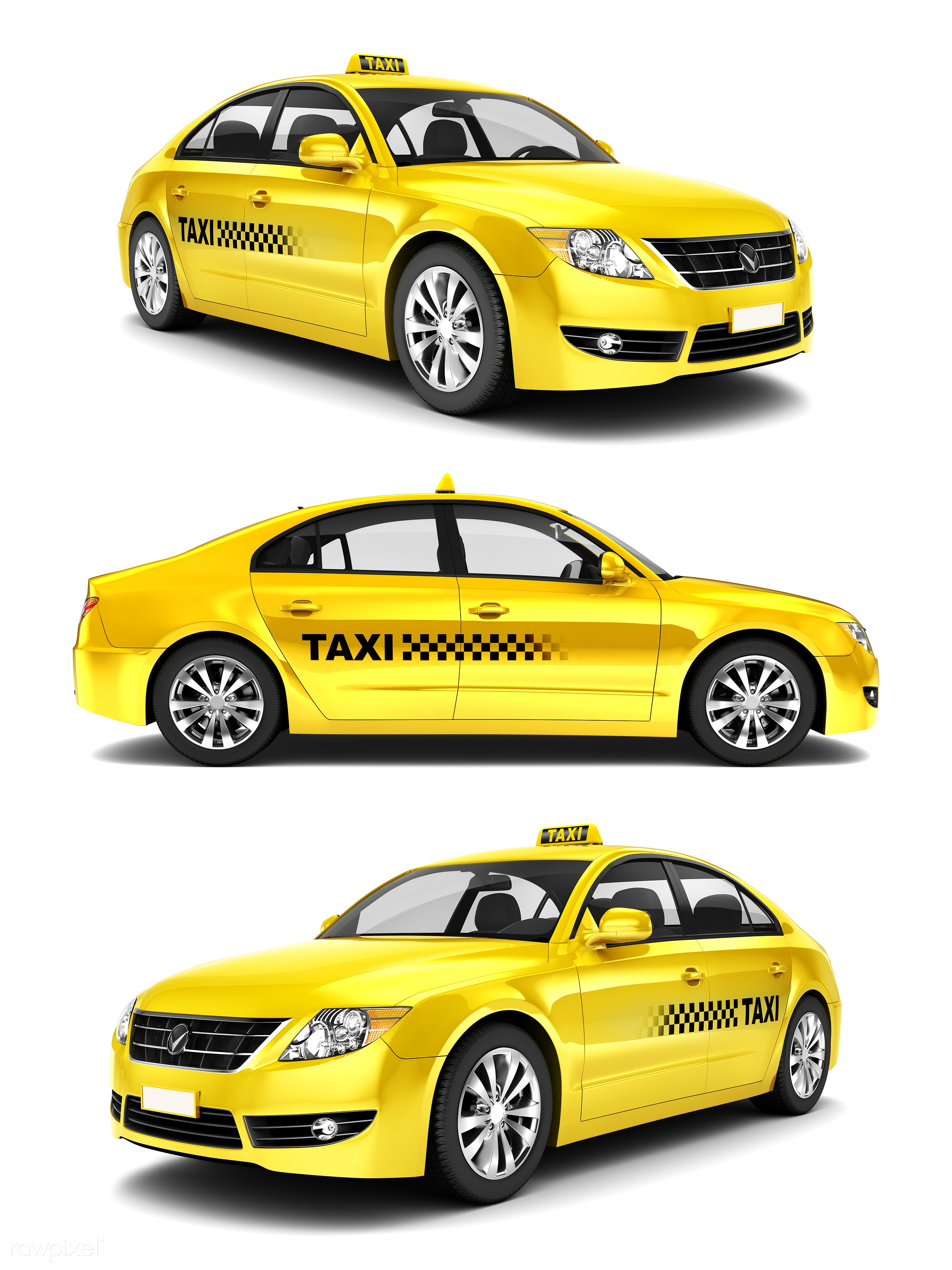 Three dimensional image of car - cab, car, 3d, automobile, automotive, brandless, collection, concept car, graphic, holiday...
