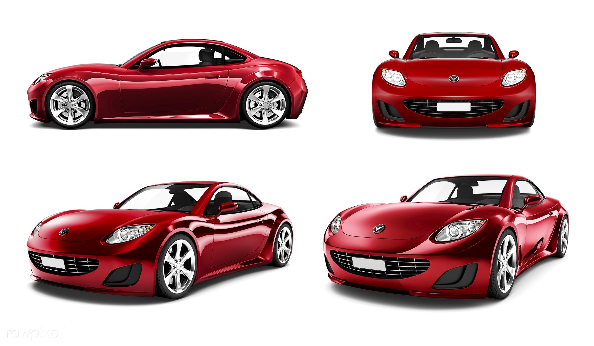 Three dimensional image of car - car, 3d, automobile, automotive, brandless, collection, concept car, elegant, graphic,...