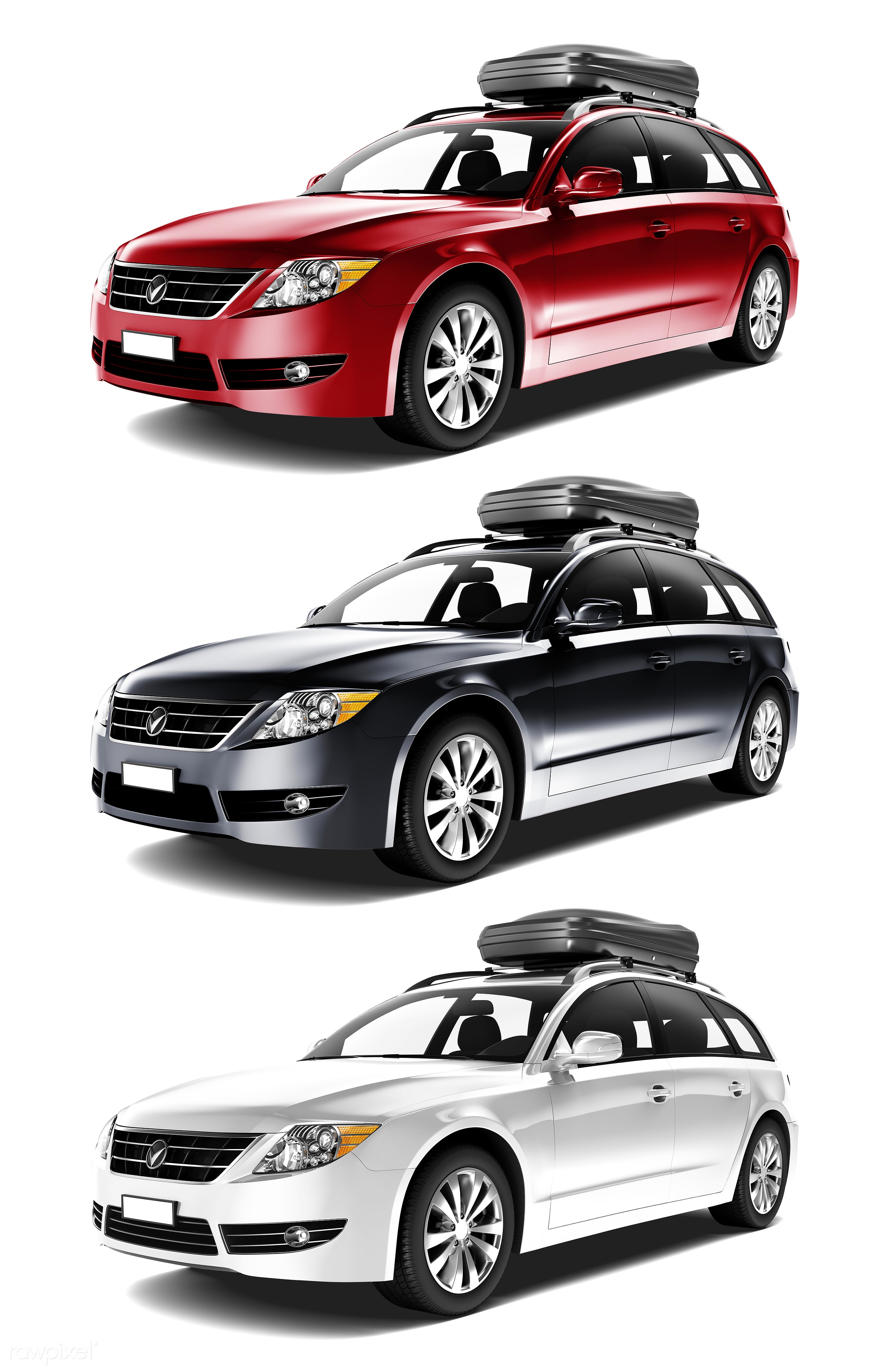 Three dimensional image of car - 3d, automobile, automotive, brandless, car, collection, concept car, graphic, holiday,...