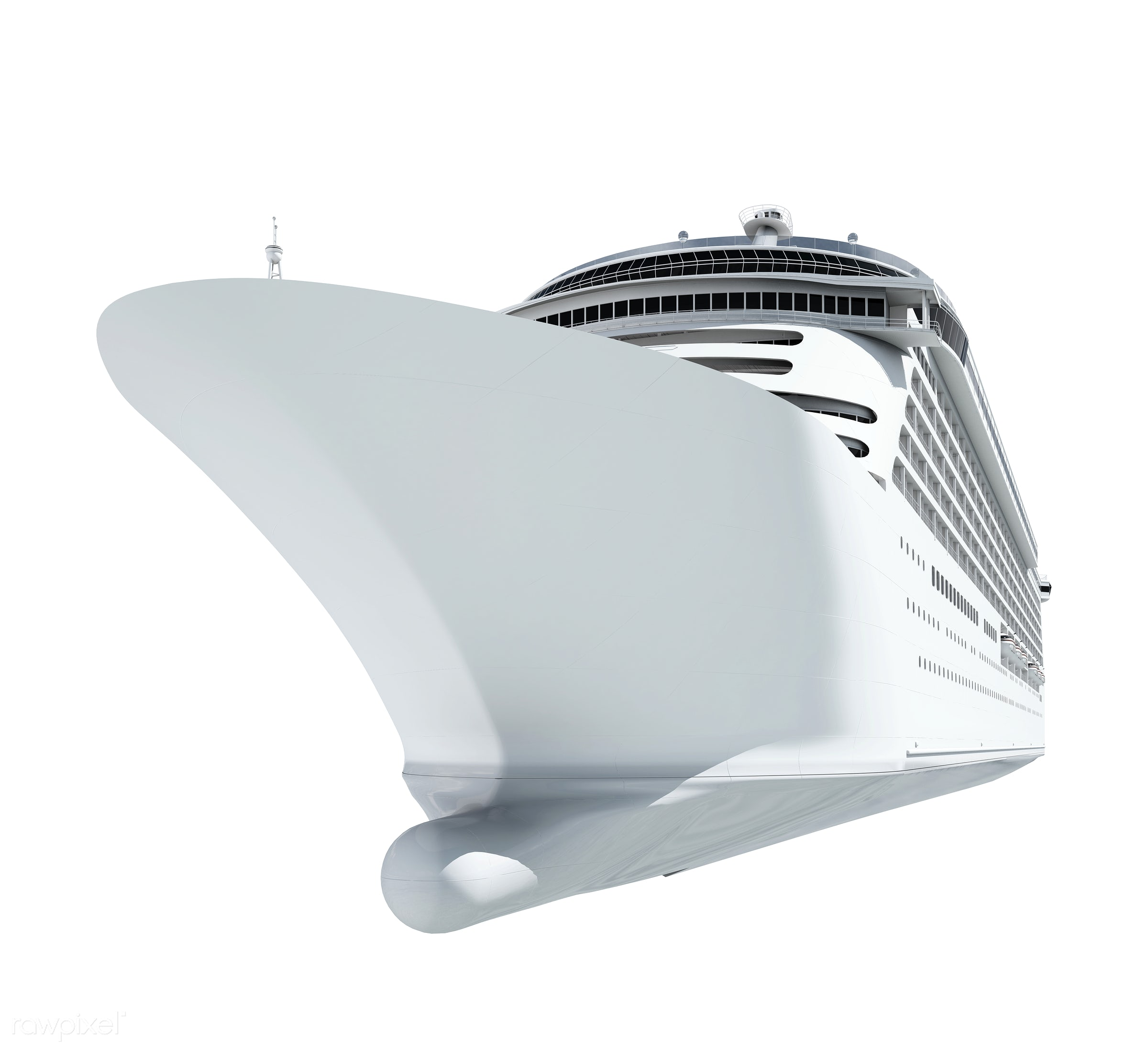 Three dimensional image of a cruise ship - 3d, boat, cruise, cruise ship, exploration, getaway, graphic, holiday, huge,...