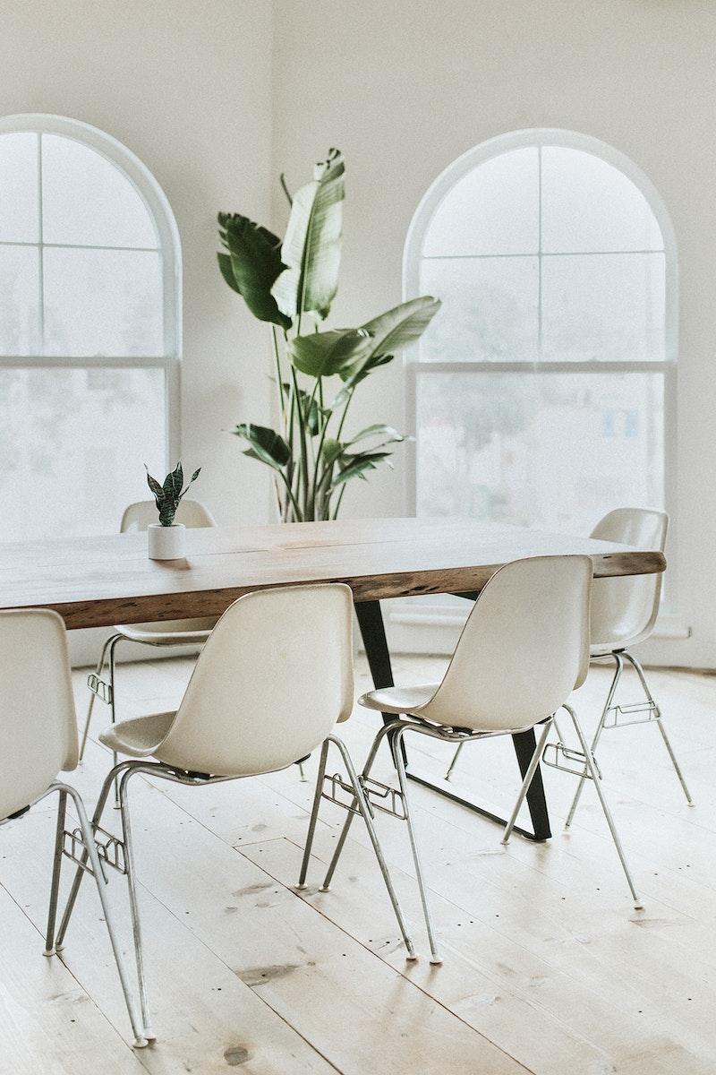 Modern interior design space for living