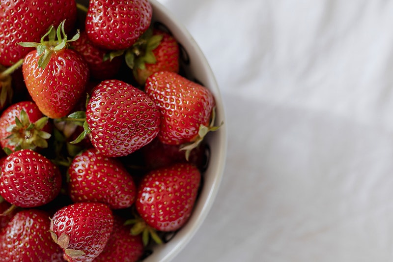 strawberries for vitamin c