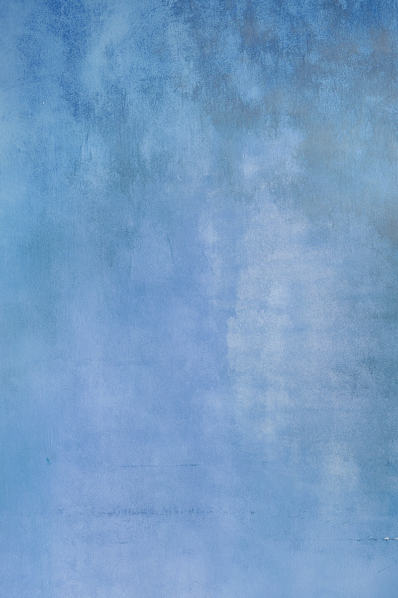 Old smooth blue stained background