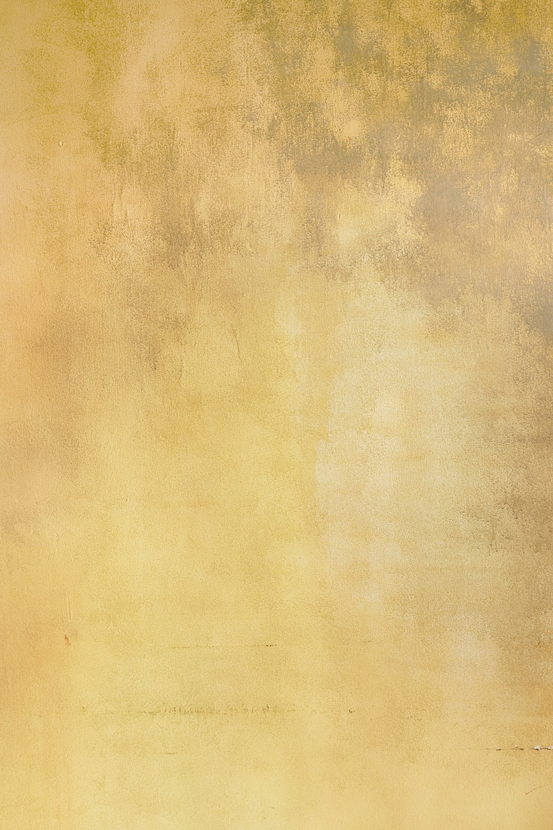 Old smooth yellow stained background