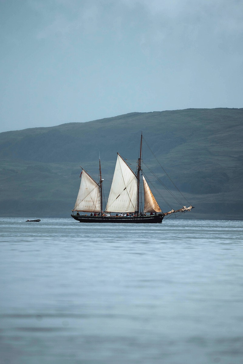 Sailboat on the Isle of Mull