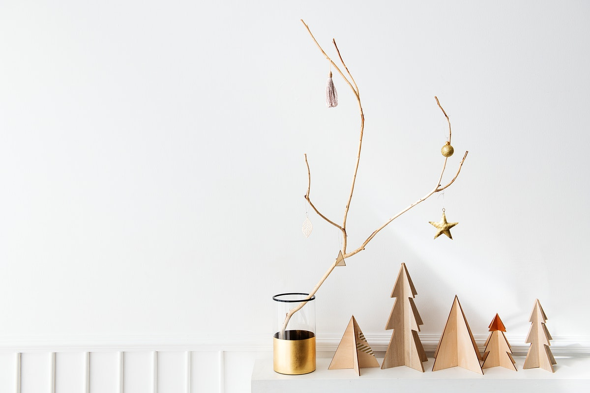 Eco friendly Christmas tree decoration