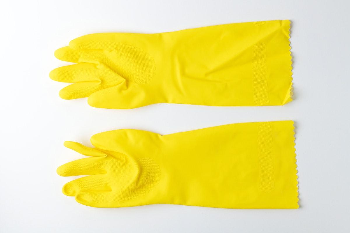 Wear gloves to prevent coronavirus spreading