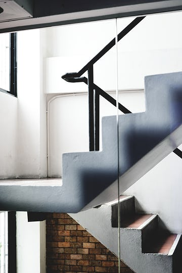 Simple design stairs