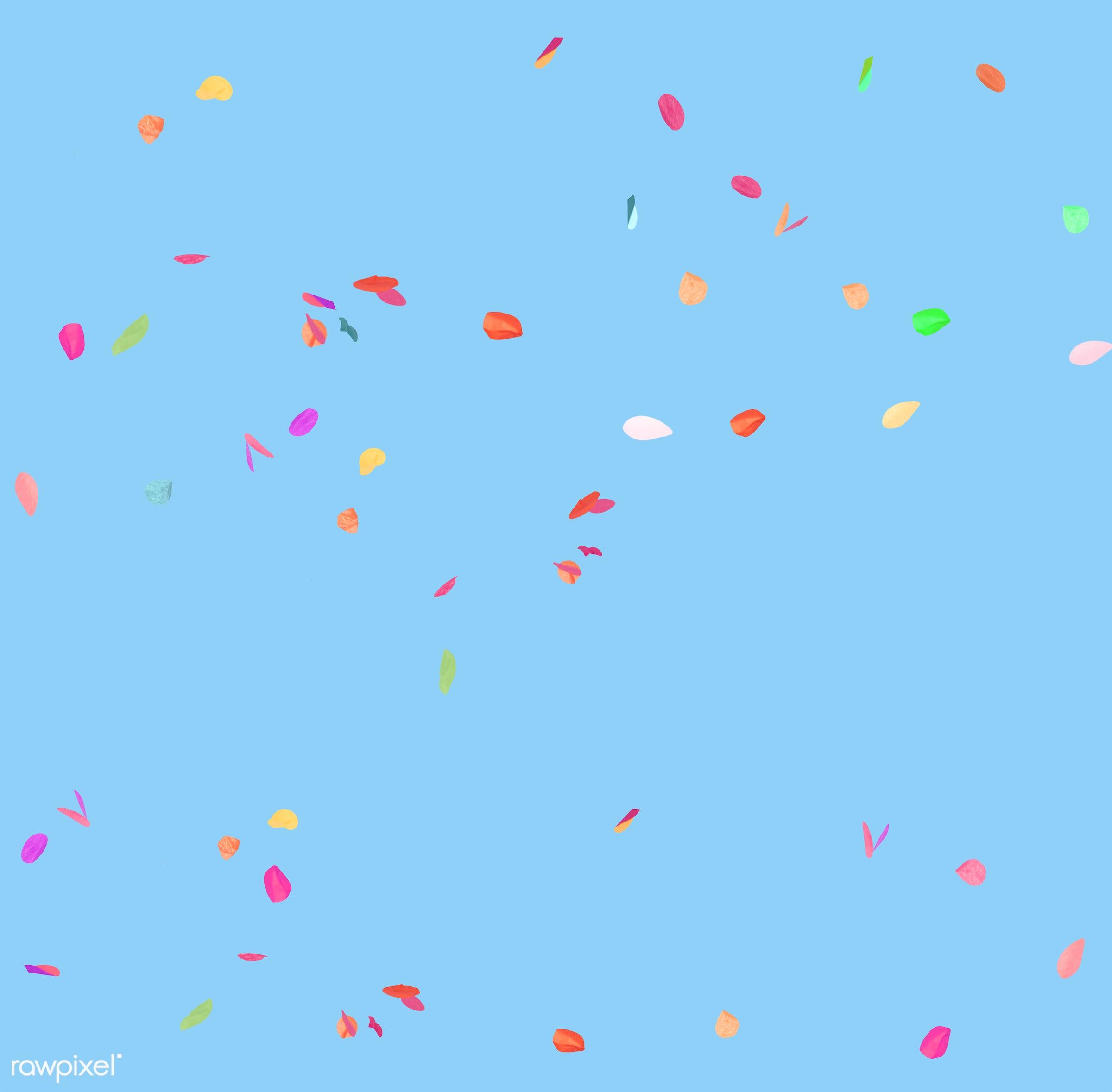 party, blue, celebartion, celebrate, colorful, confetti, festival, festive, fiesta, multicolored