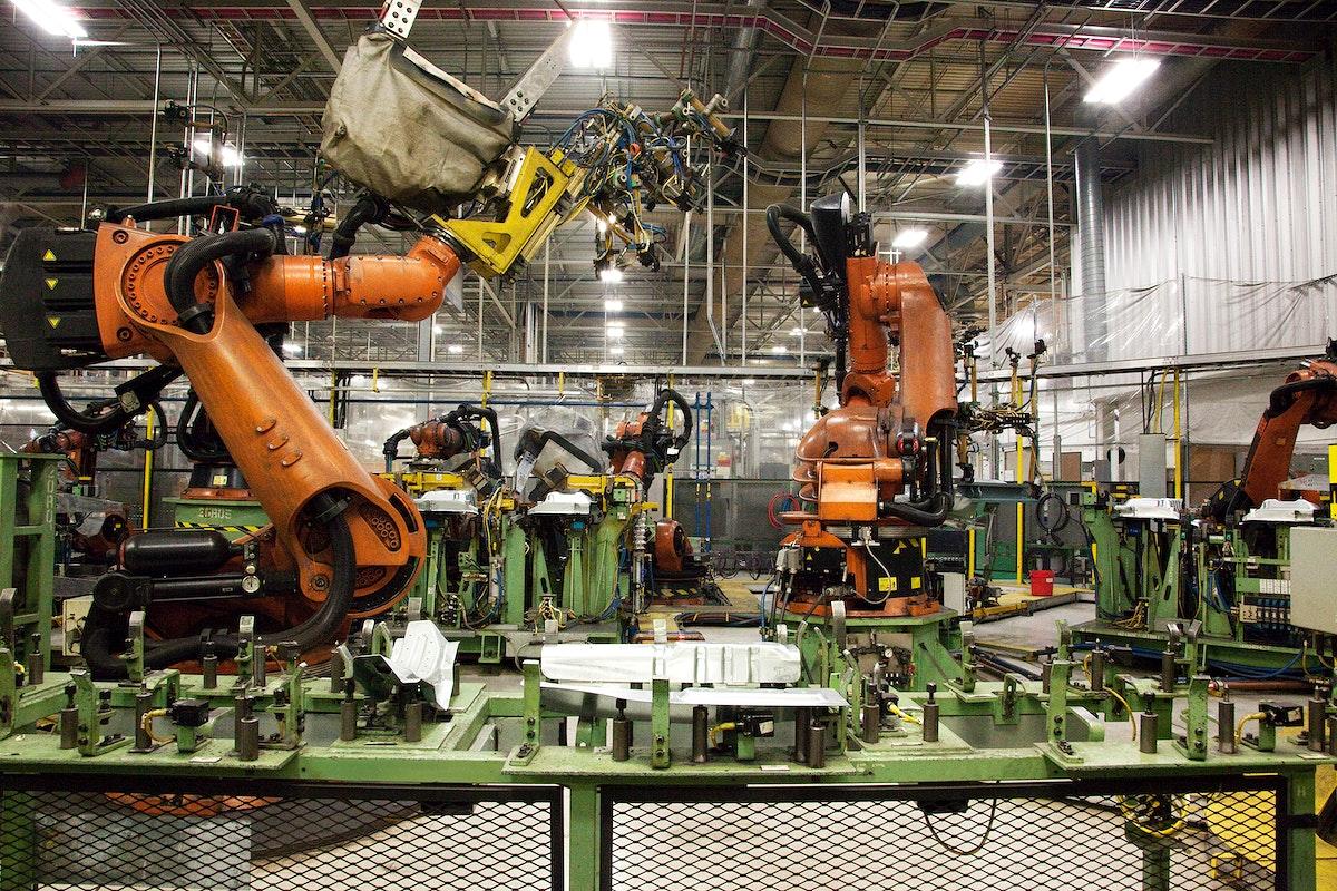 International car manufacturing plant in Tuscaloosa County, Alabama. Original image from Carol M. Highsmith's America…