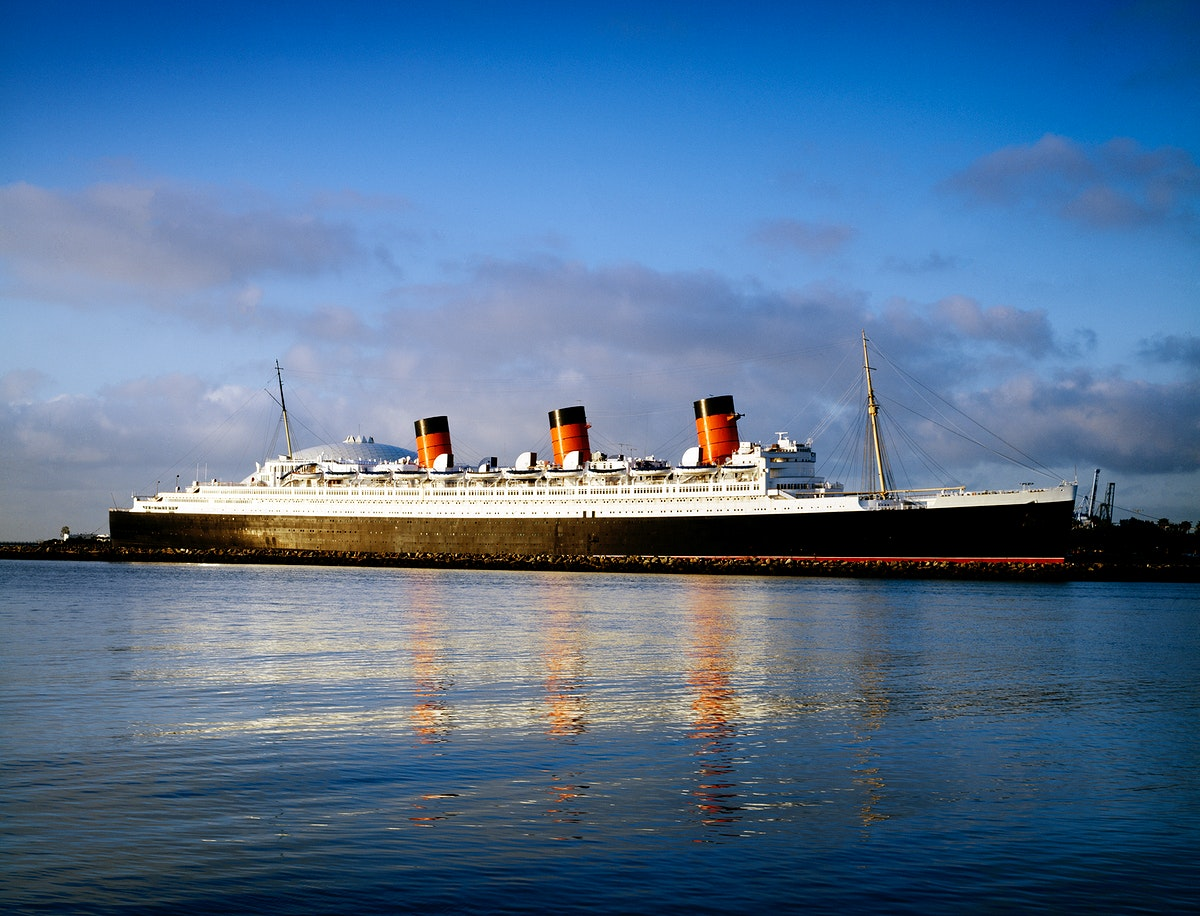Queen Mary. Original image from Carol M. Highsmith's America, Library of Congress collection. Digitally enhanced by…
