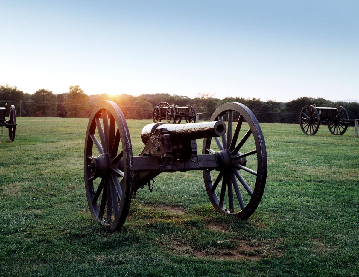 Manassas Battlefield, Virginia. Original image from Carol M. Highsmith's America, Library of Congress collection.…