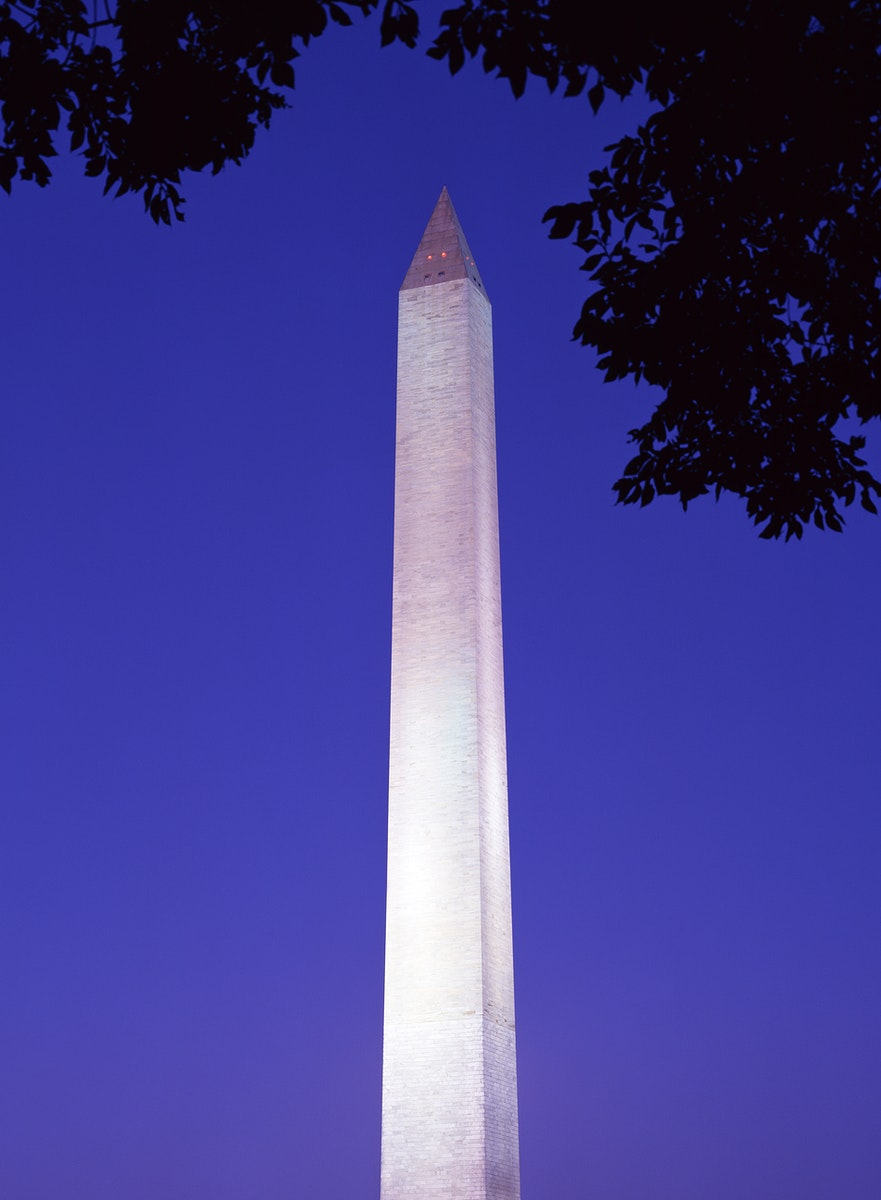 The Washinton Monument in Washington, D.C. Original image from Carol M. Highsmith's America, Library of Congress…